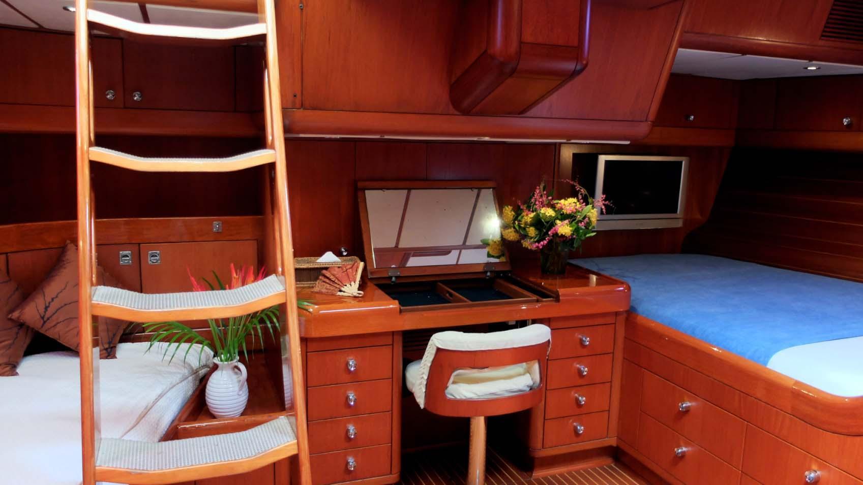 ASPIRATION sailing yacht cabin