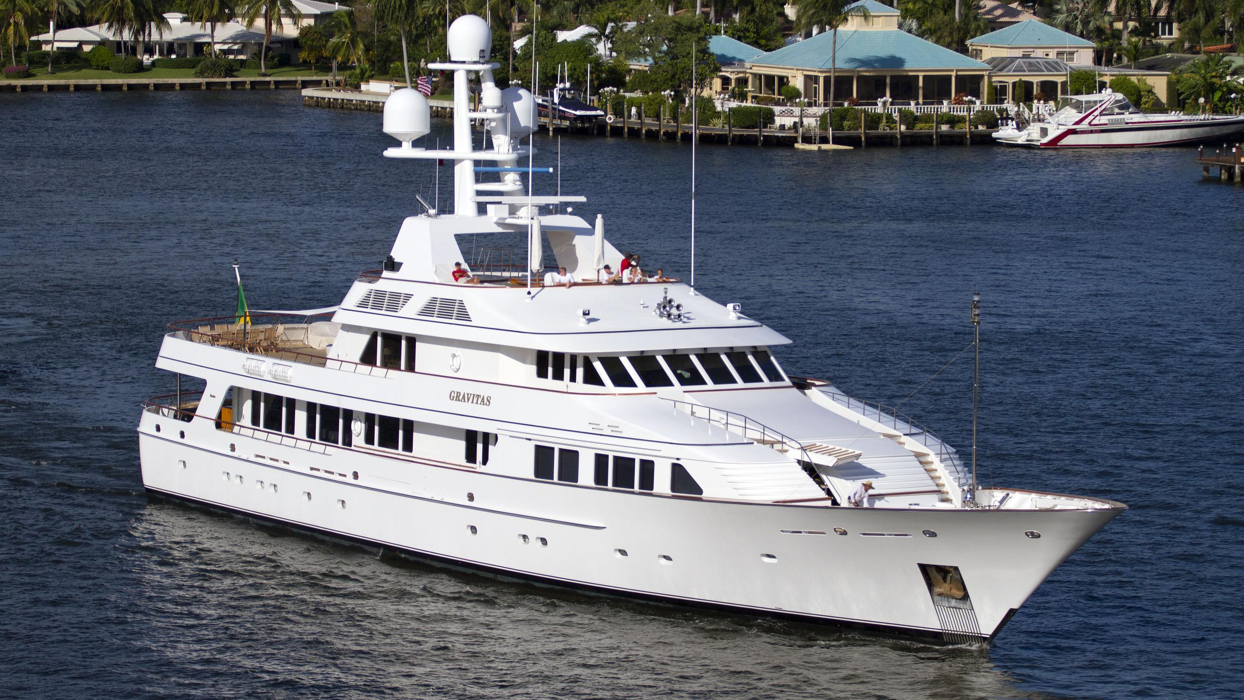 maria gravitas feadship 52m 1995 motoryacht half profile