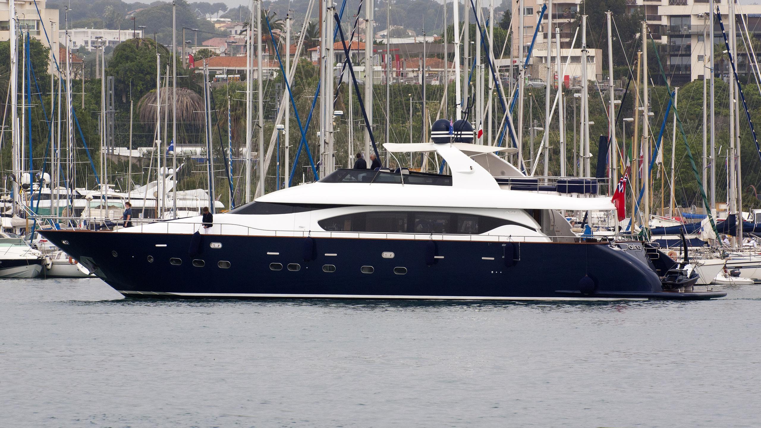 asha-motor-yacht-Maiora-27-2006-27m-profile