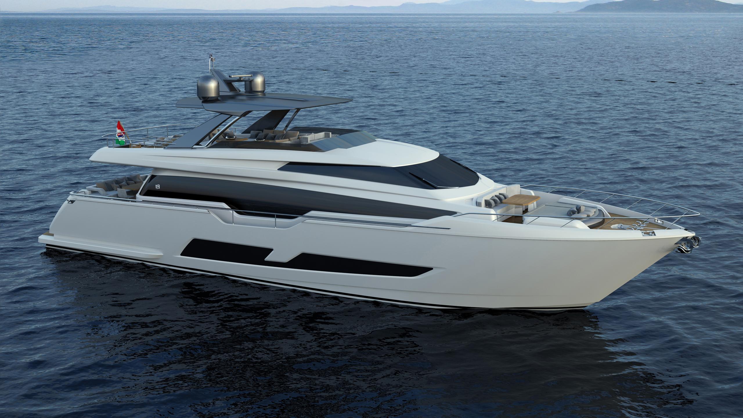nada motoryacht ferretti 850 2016 26m rendering
