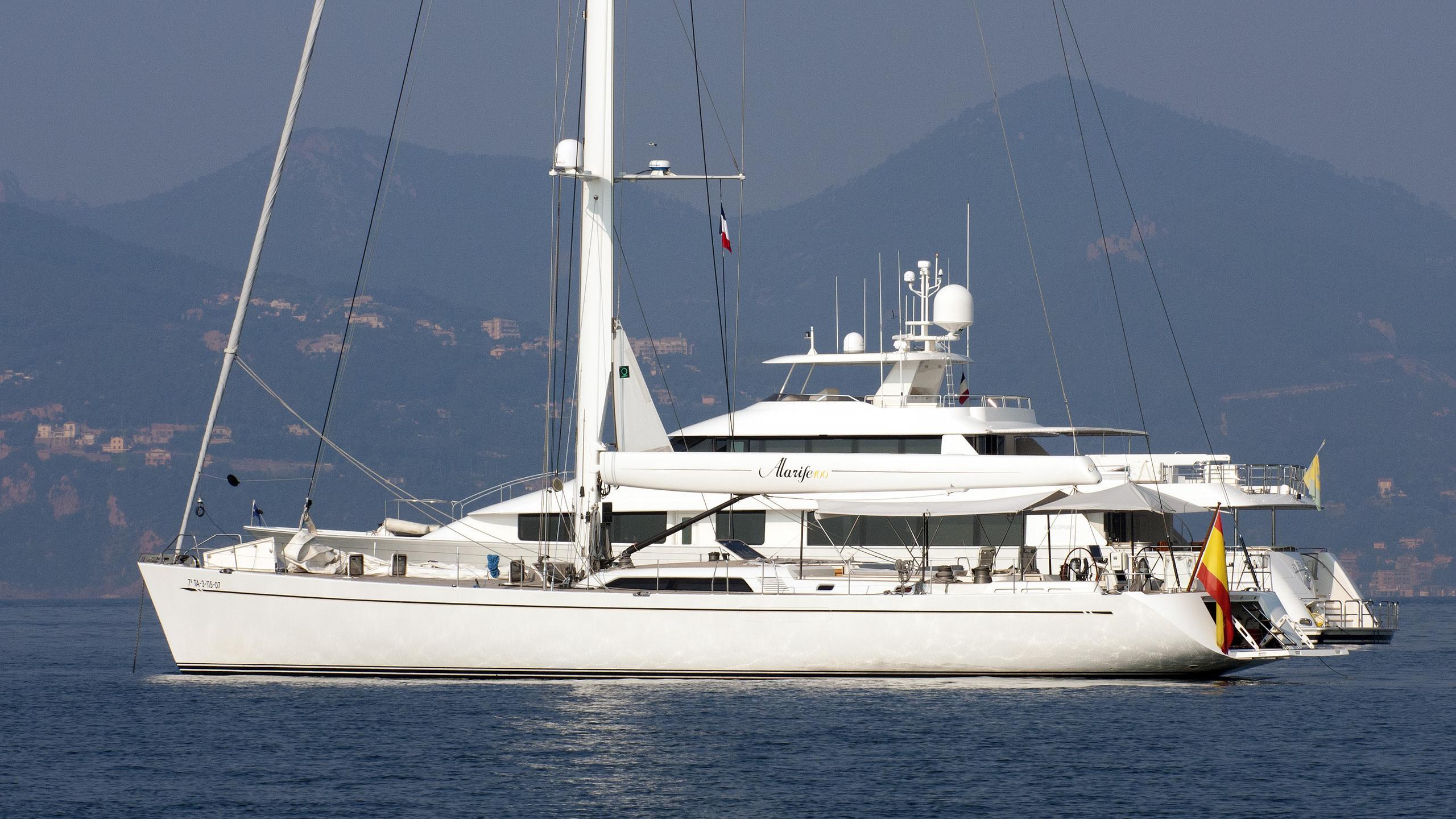 alarife-sailing-yacht-barcos-deportivos-2006-30m-profile