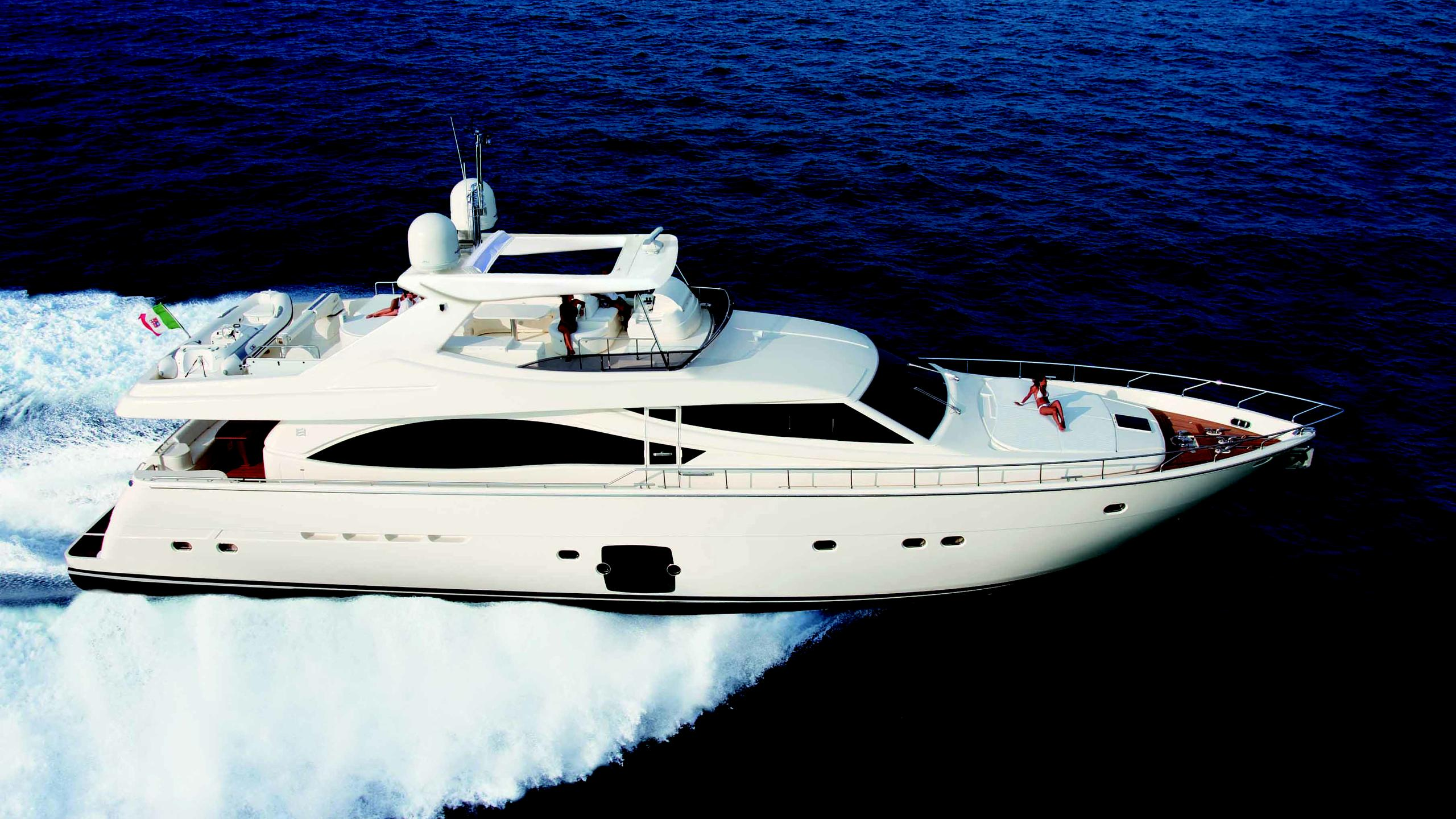 one and only motoryacht 2006 25m profile sistership