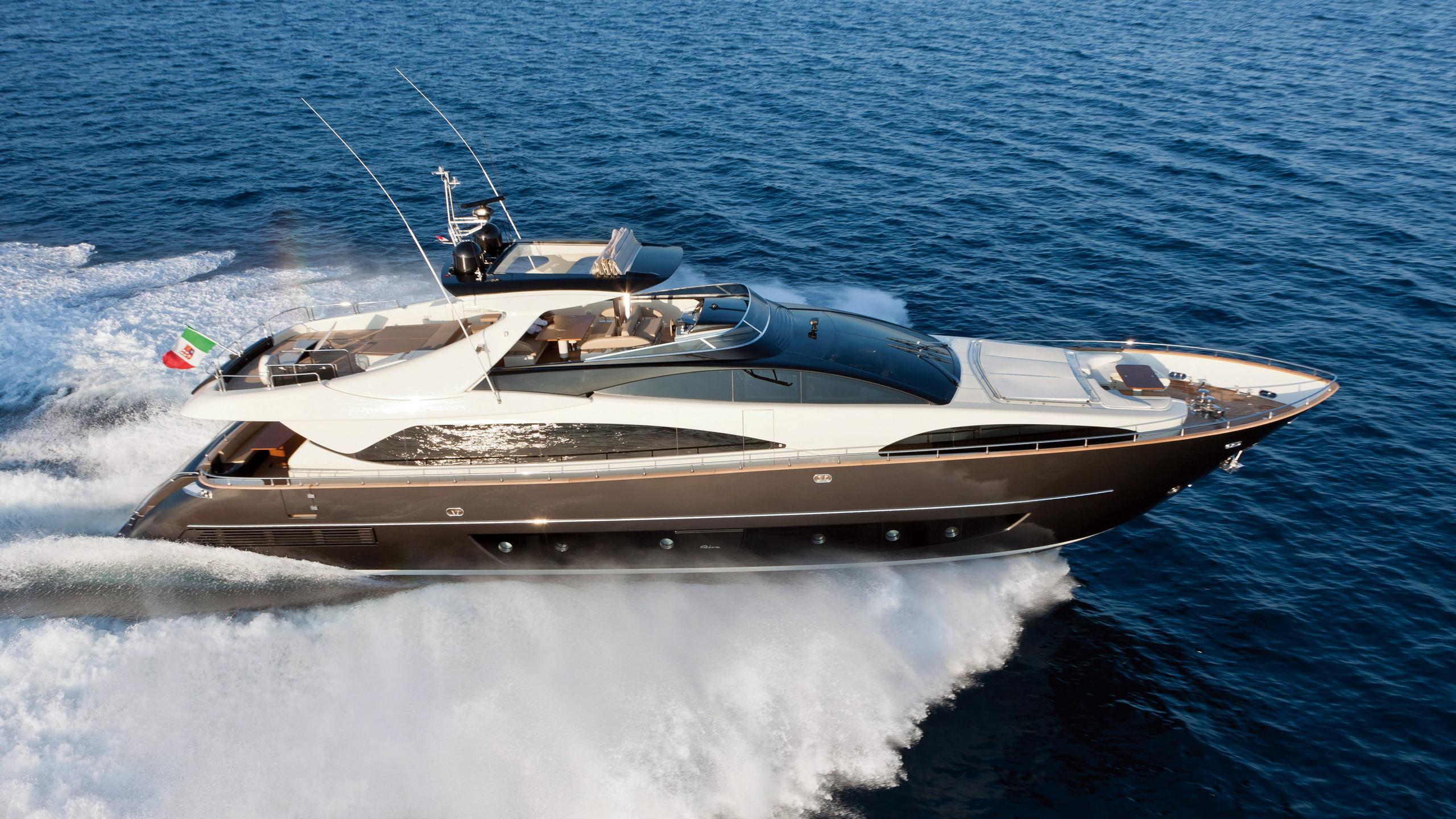cobana kalunga ii motoryacht riva duchessa 92 2009 28m profile sistership