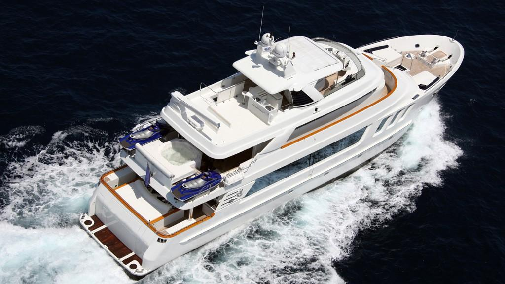 hiatus lady d lady genyr motoryacht mcp yachts 30m 2008 aerial