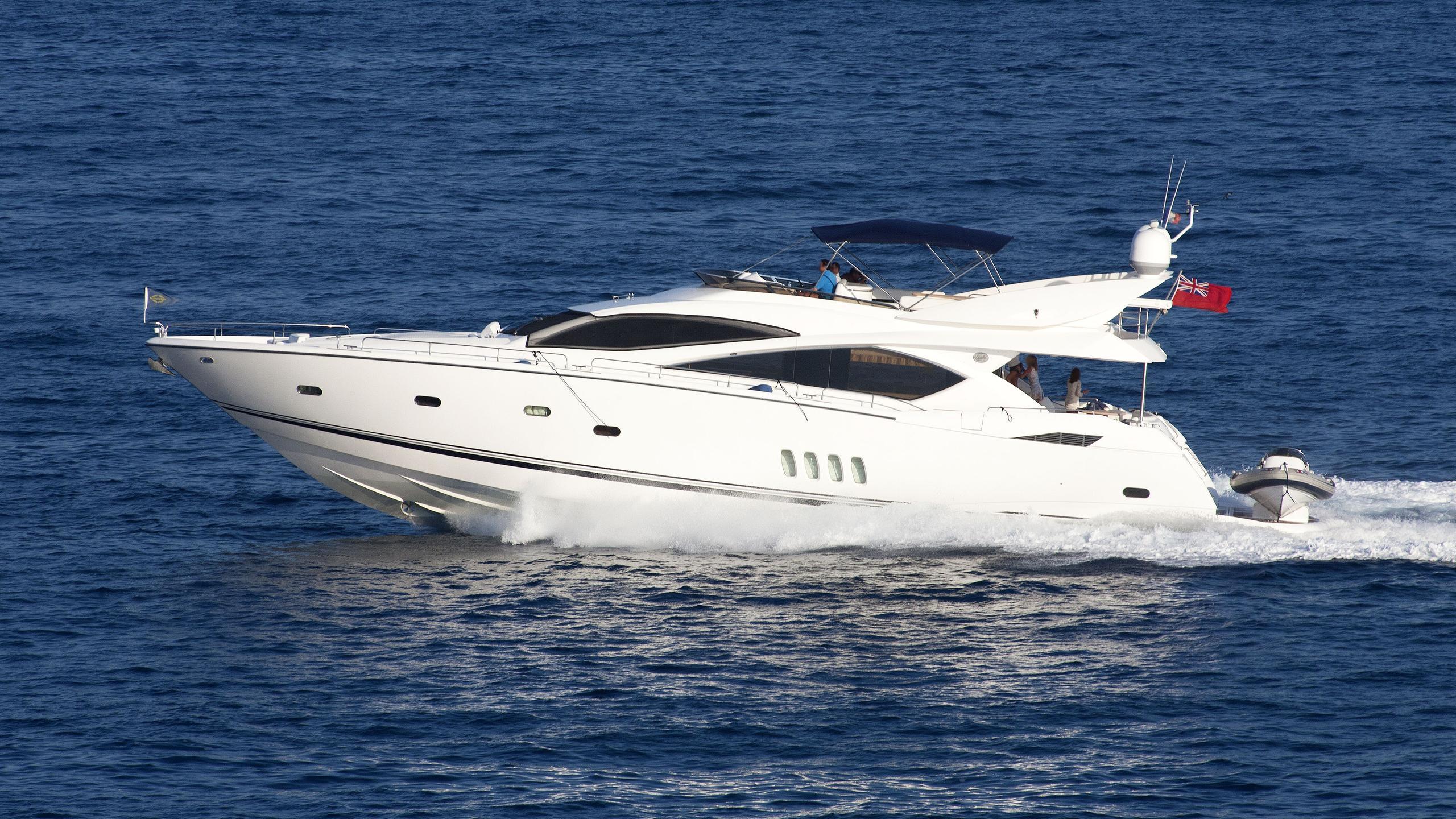 lady-doris-white-gold-motoryacht-sunseeker-82-yacht-2006-25m-profile-running