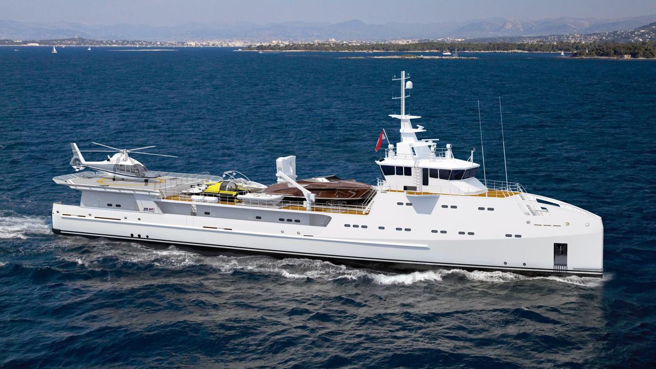 intrepid yacht boat international