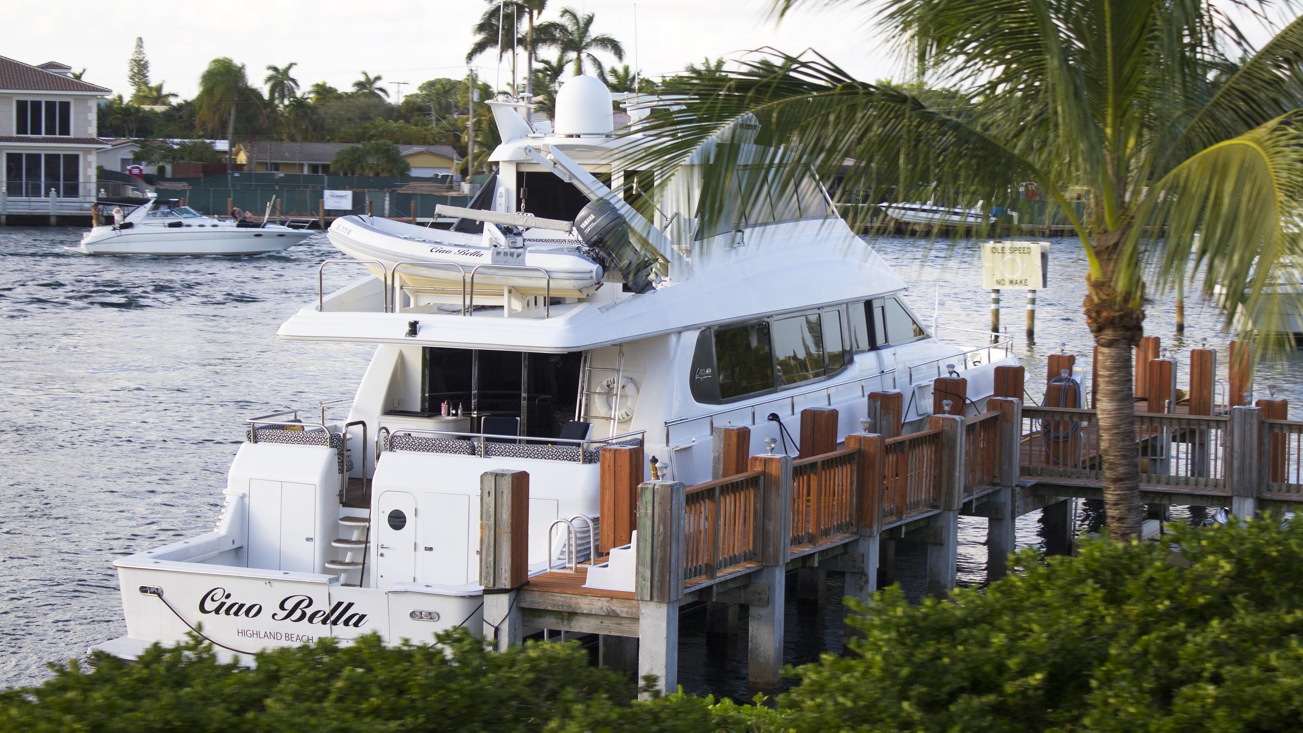 ciao-bella-motor-yacht-lazzara-80-sl-2001-25m-mooring
