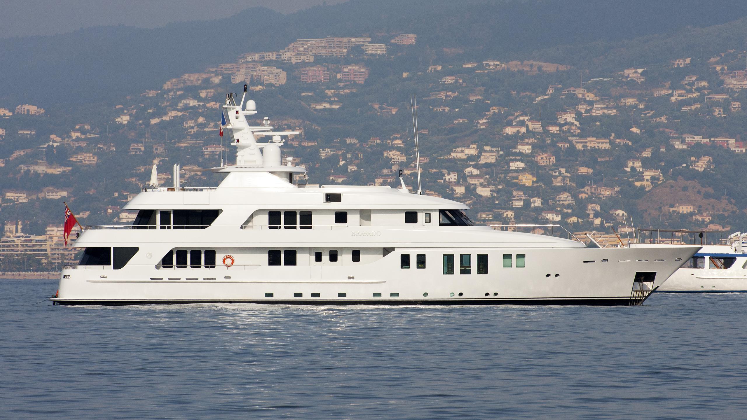bravado motor yacht abeking rasmussen 2004 45m profile before refit