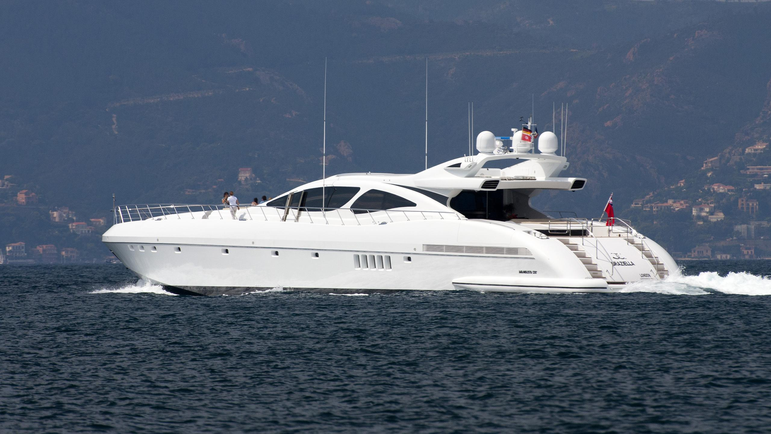 voyage-motor-yacht-Mangusta-130-Sport-2006-39m-cruising