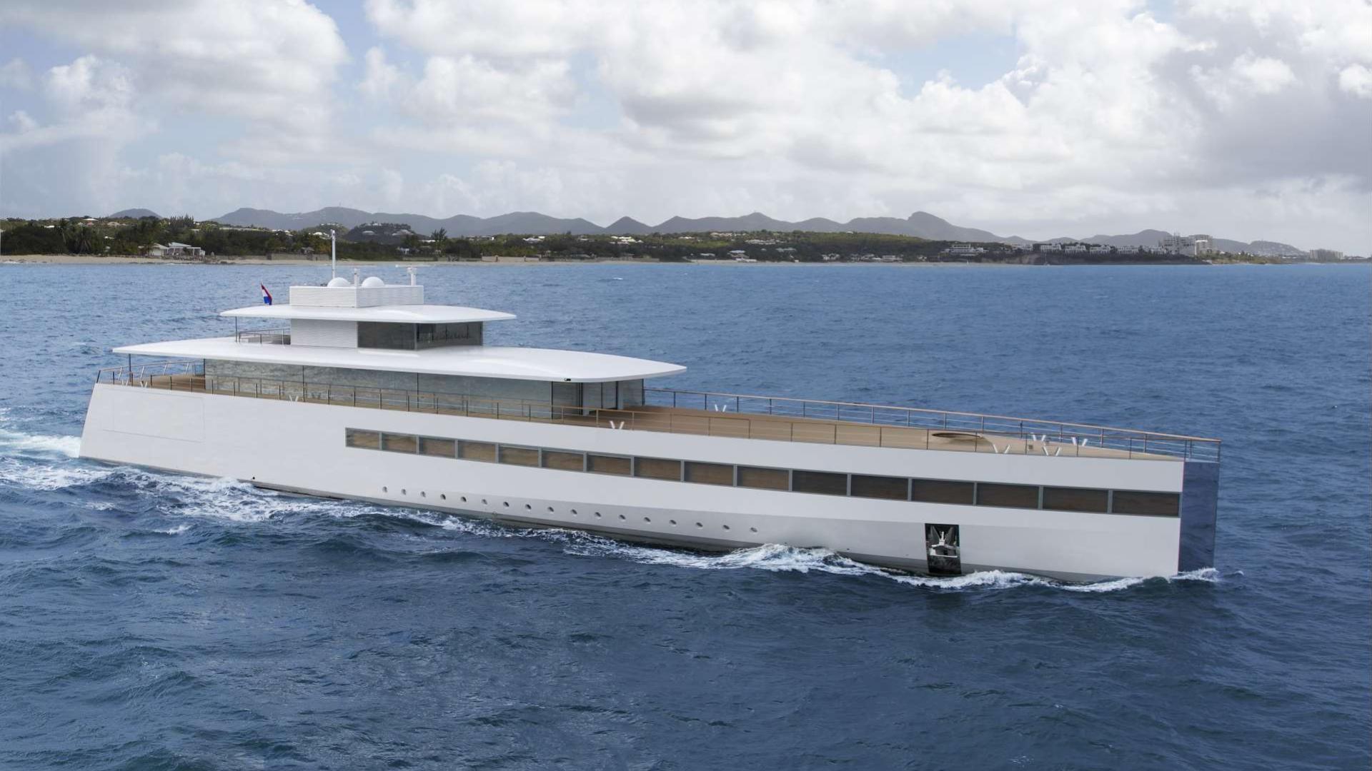 Steve Jobs superyacht Venus cruising