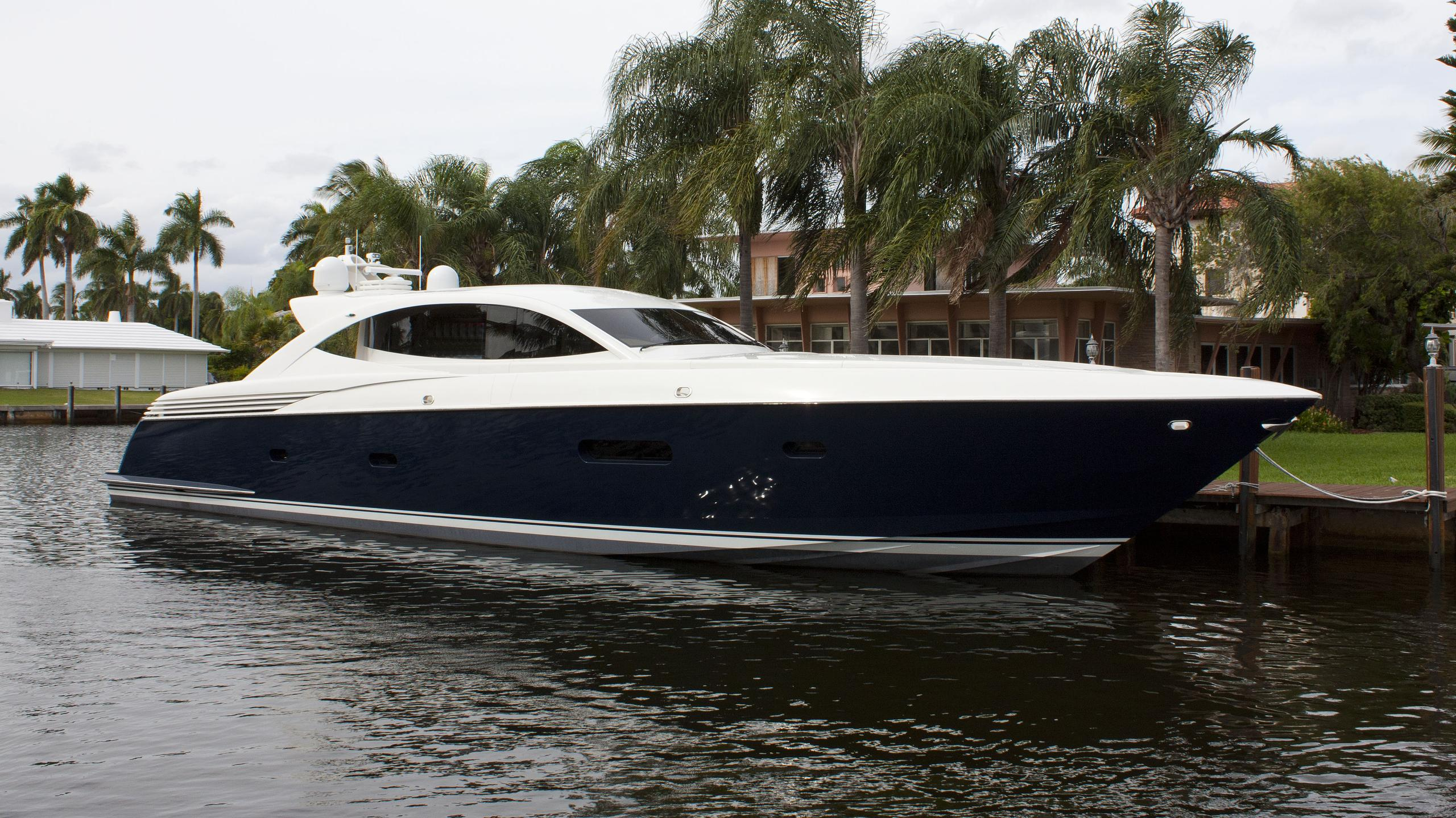 virginia sea elielle motoryacht mcmullen wing 2005 25m half profile