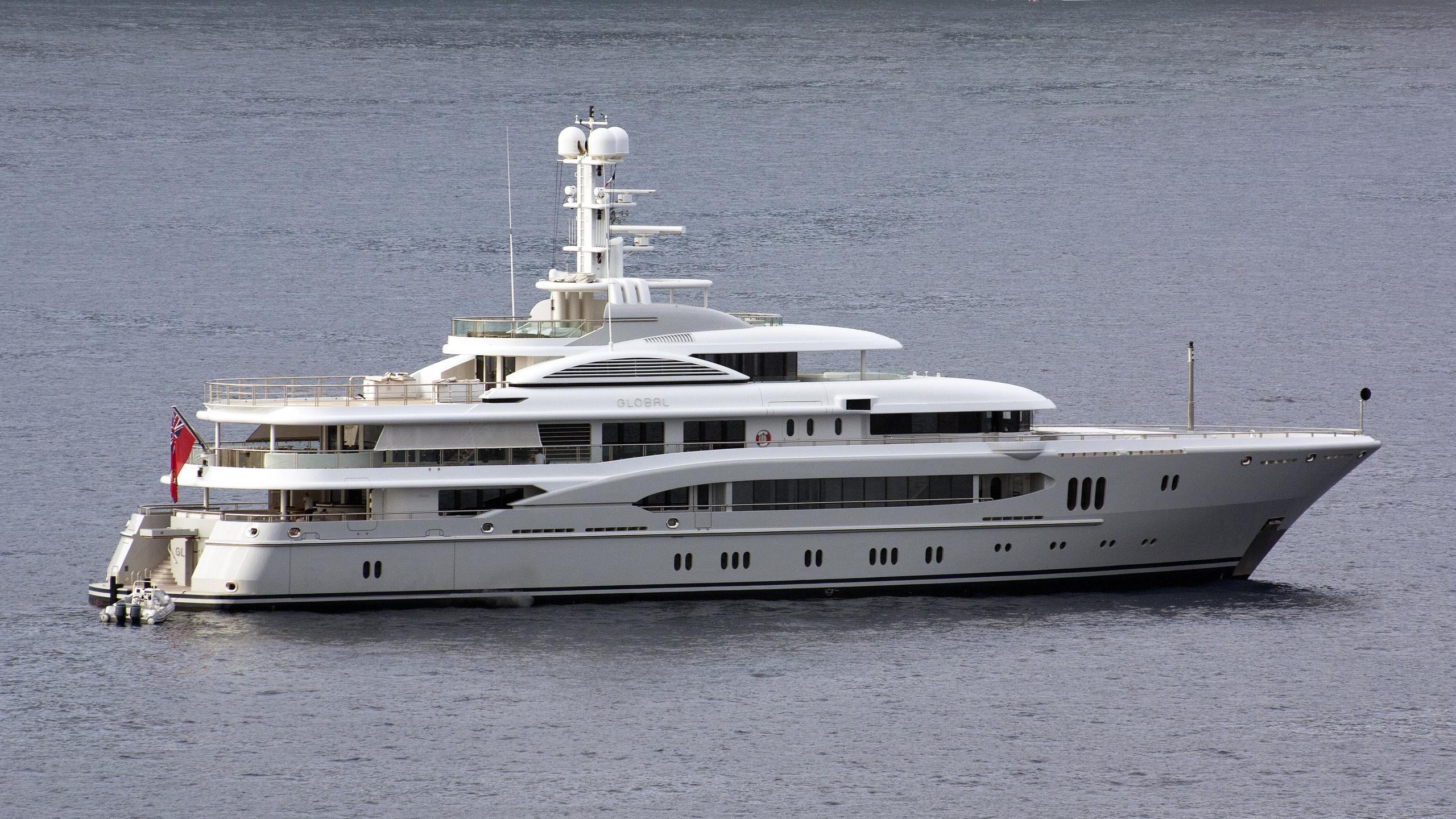 global kismet motor yacht lurssen 2007 74m profile after her first refit