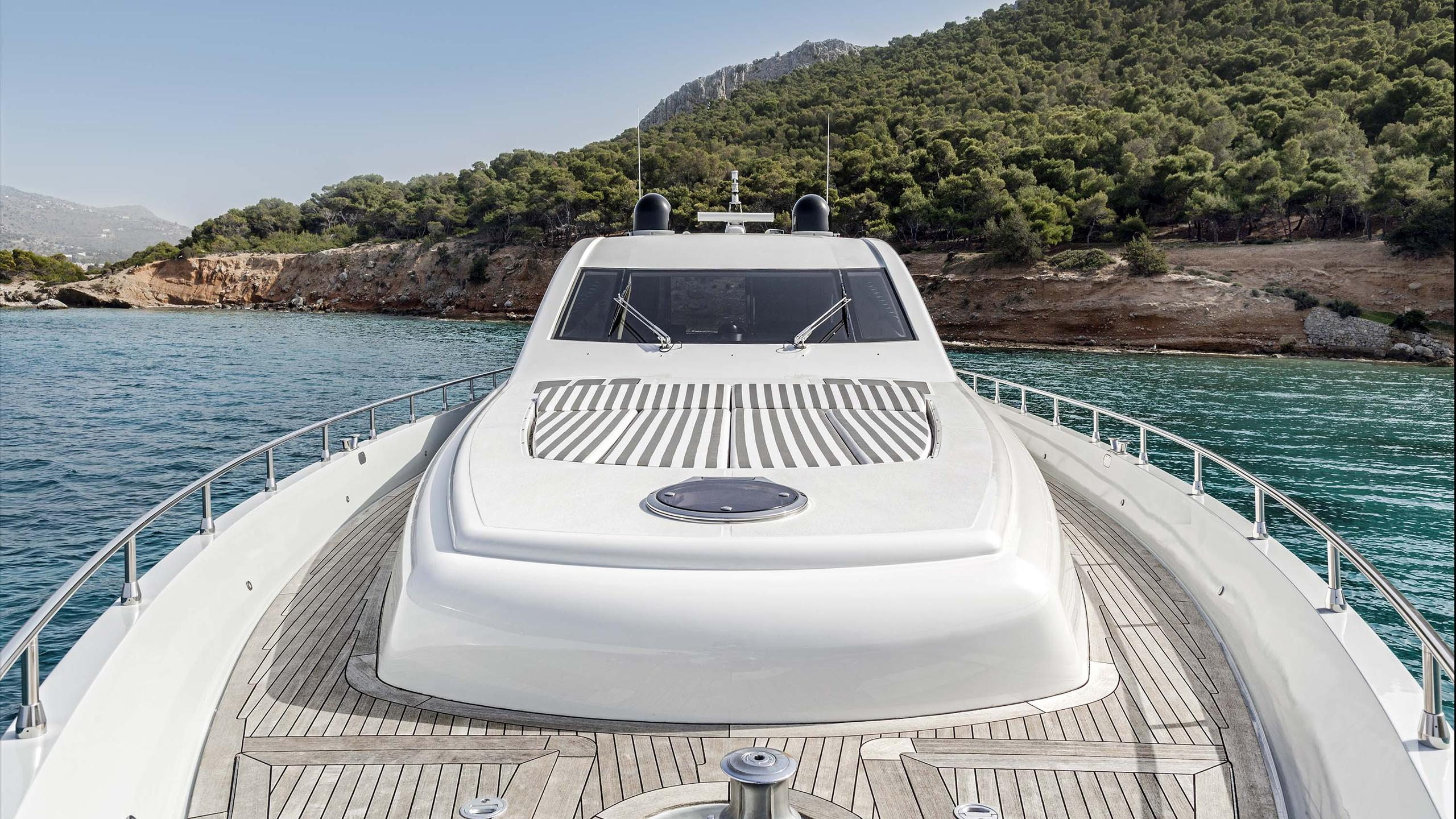 Rena motor yacht for charter