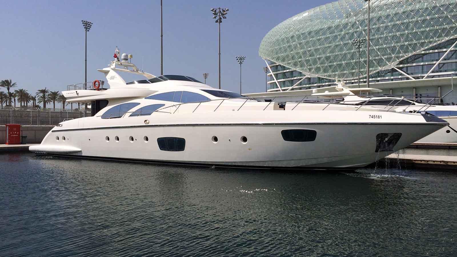Viceroy Yacht Exterior