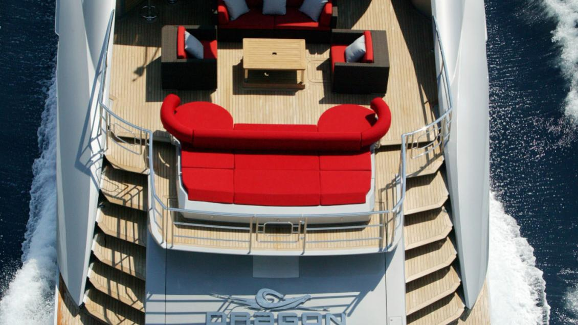 Dragon motor yacht for sale: exterior