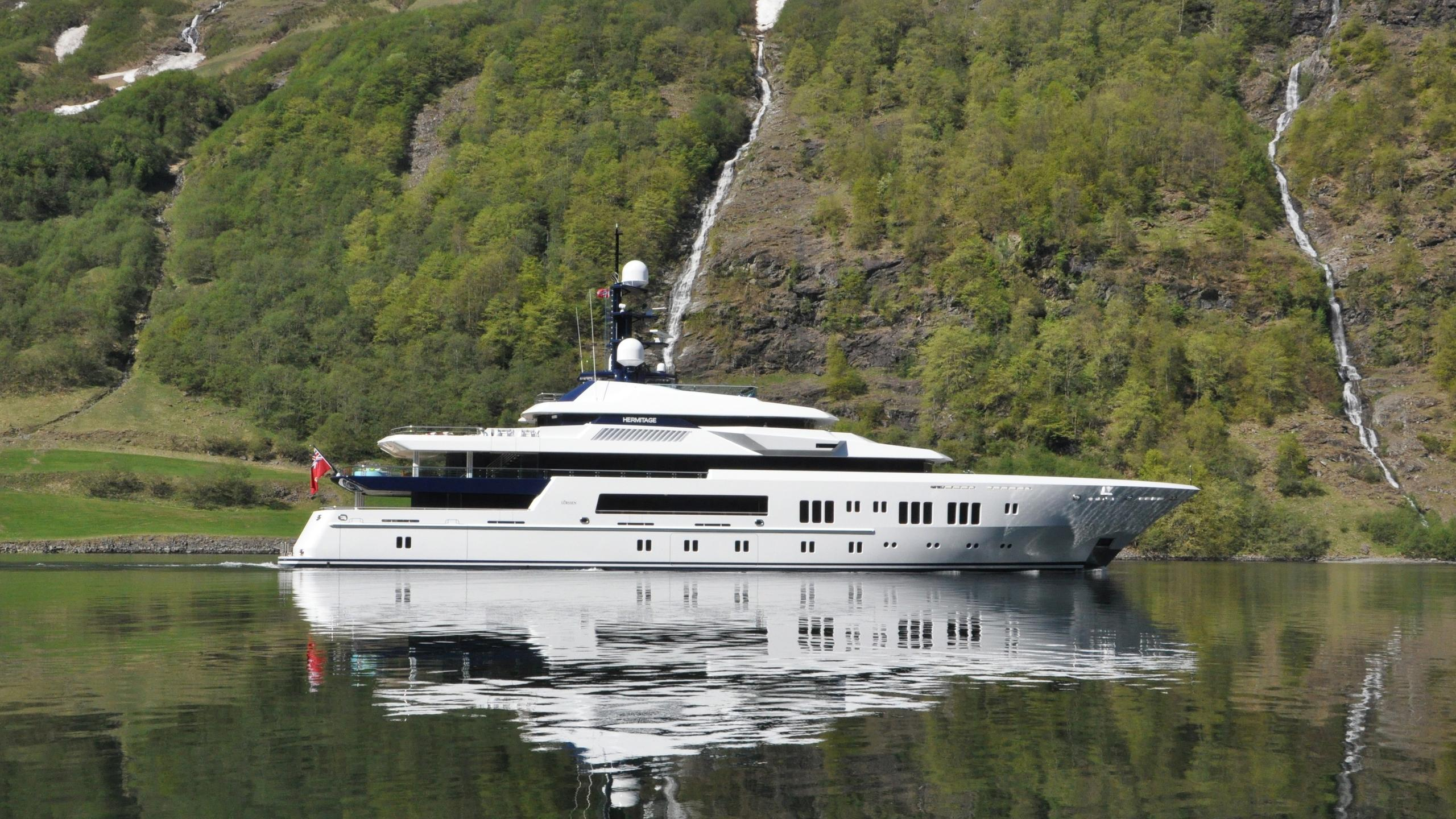 Hermitage yacht profile