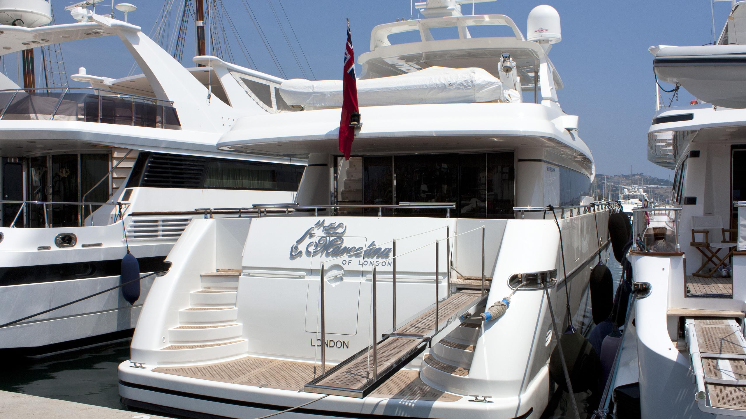 marcelina-of-london-motor-yacht-sanlorenzo-88-2007-27m-stern