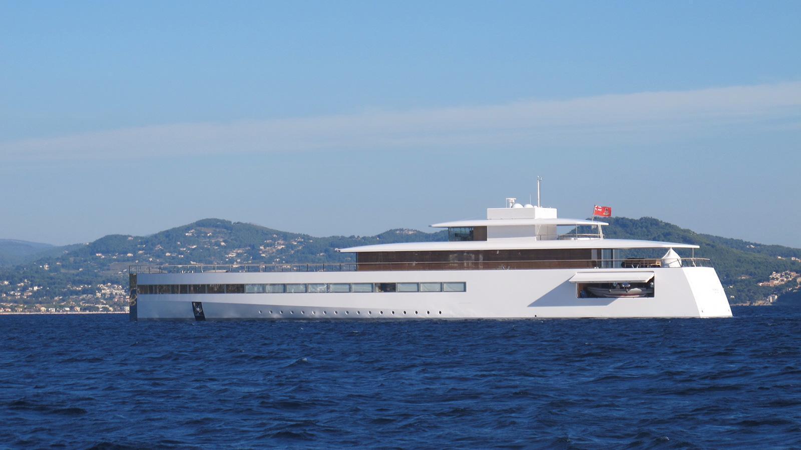 Steve Jobs superyacht Venus profile