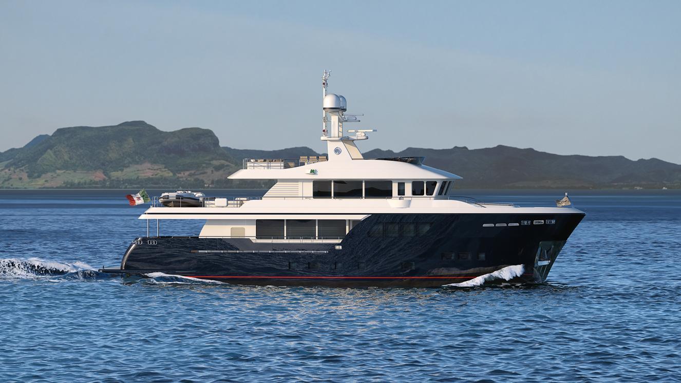 babbo-motor-yacht-cantiere-delle-marche-darwin-102-2016-31m-cruising-profile-rendering