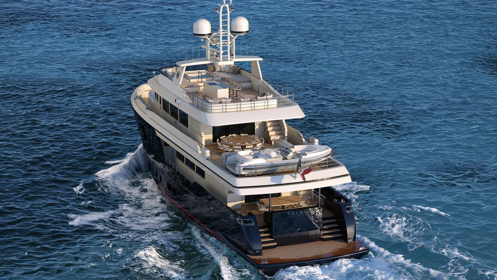babbo-motor-yacht-cantiere-delle-marche-darwin-102-2016-31m-cruising-stern-rendering