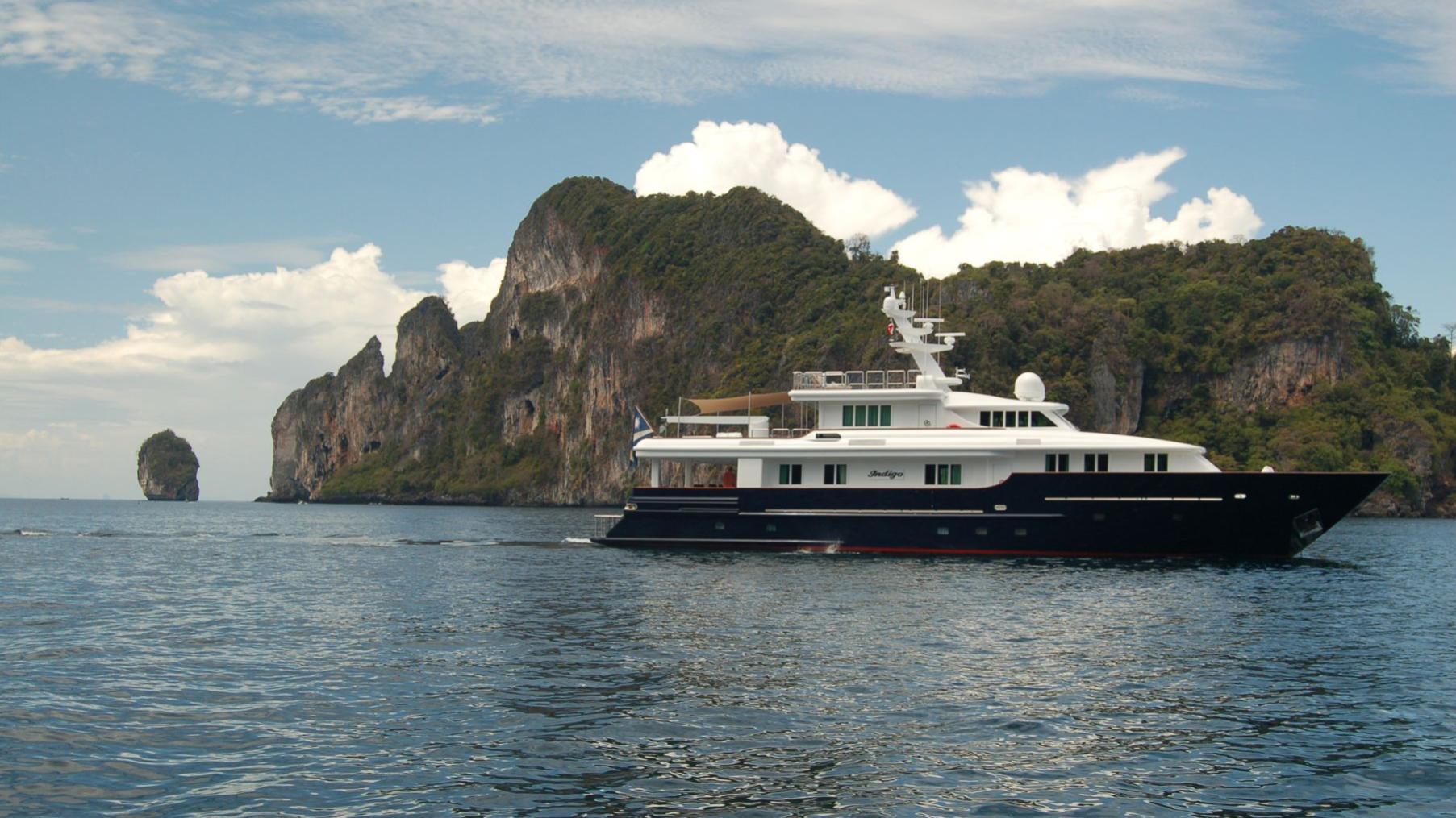 Indigo superyacht for sale