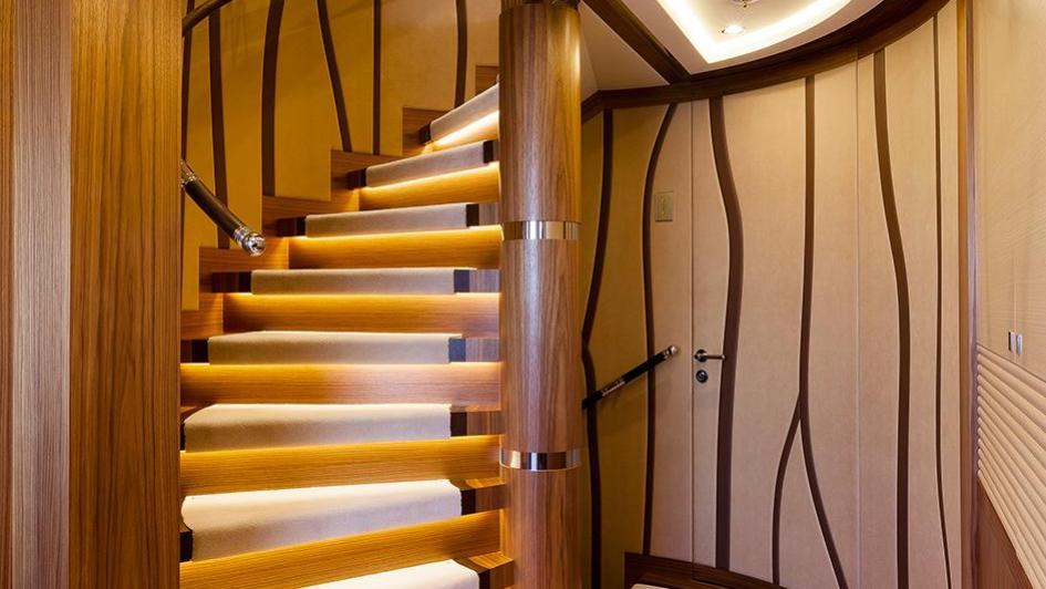 elena-motor-yacht-heesen-2014-47m-staircase