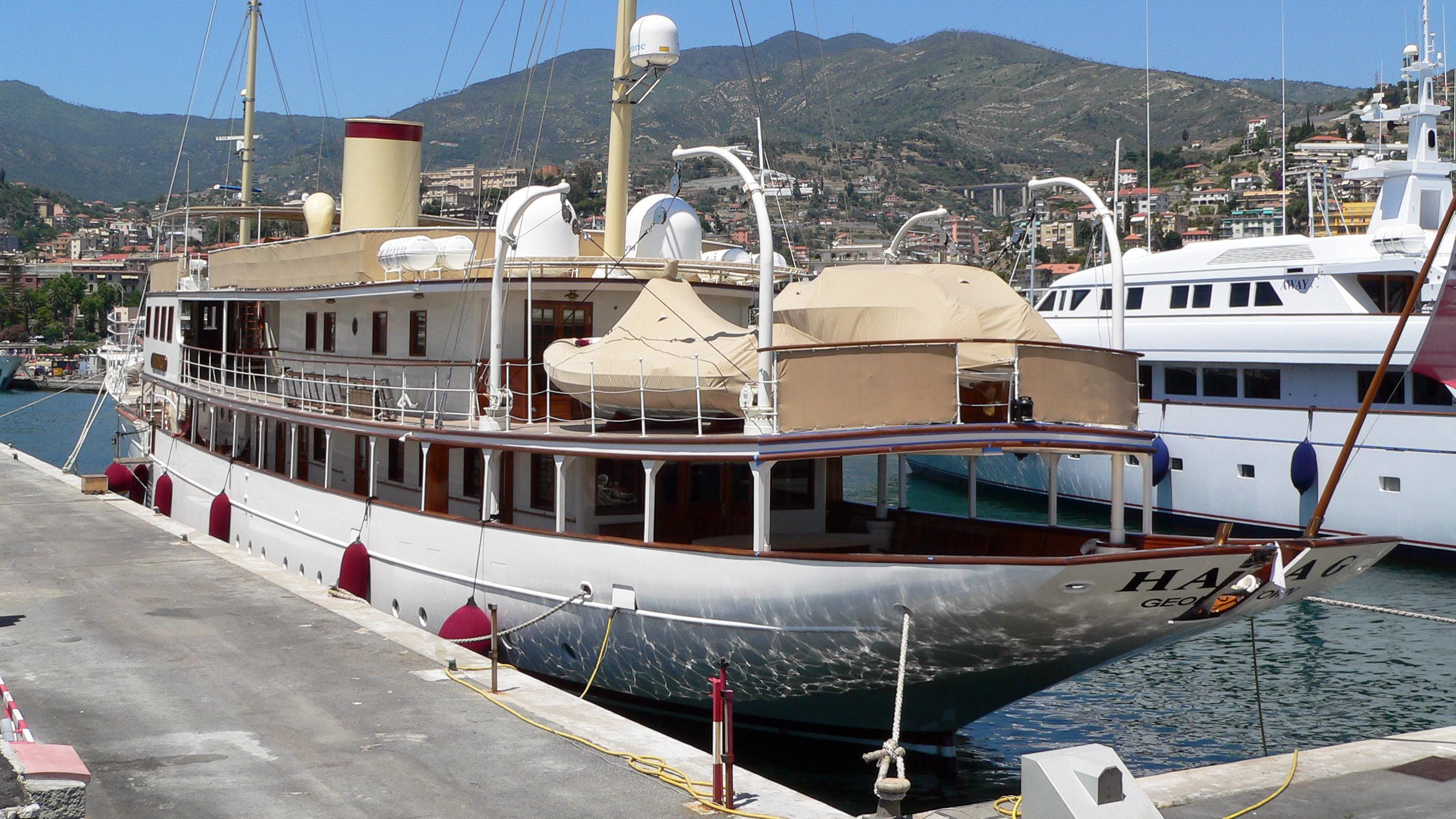 haida-1929-dona-amelia-motor-yacht-krupp-germaniawerft-1929-71m-stern
