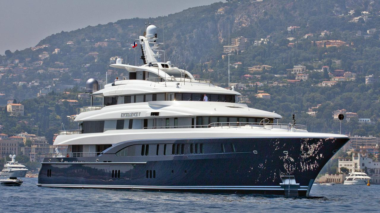 excellence v yacht