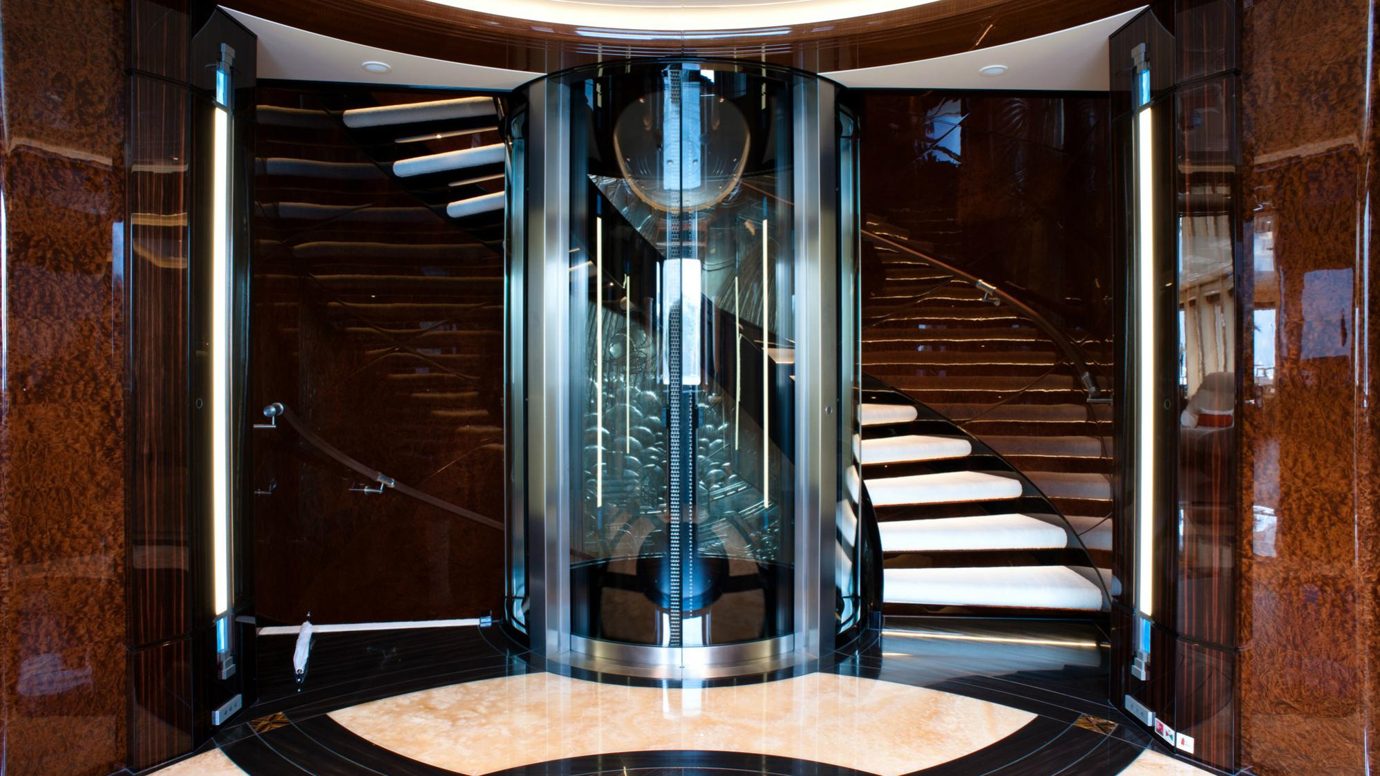 Excellence-V-motor-yacht-abeking-rasmussen-2012-60m-staircase