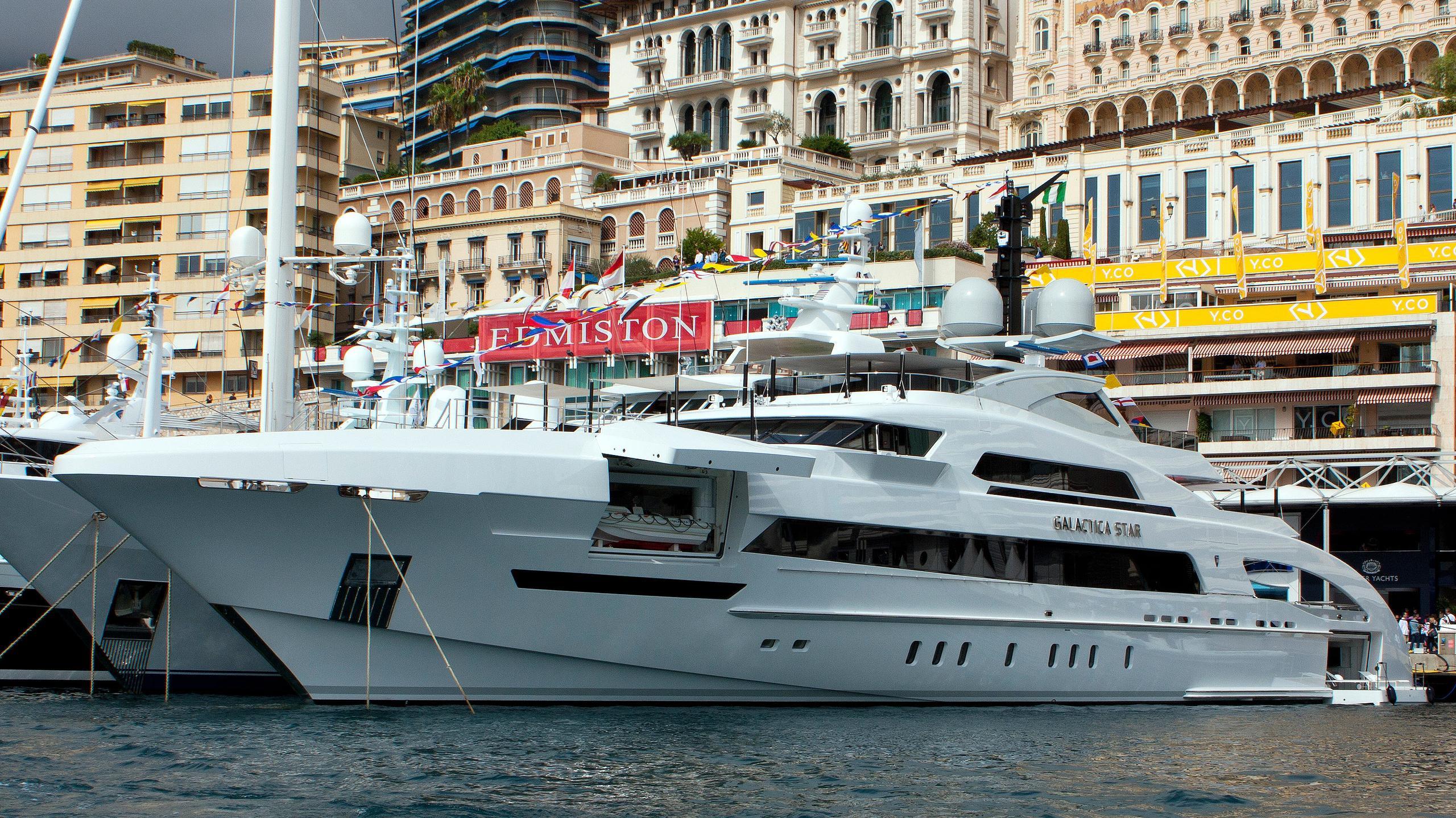 Galactica-Star-motor-yacht-heesen-2013-65m-moored