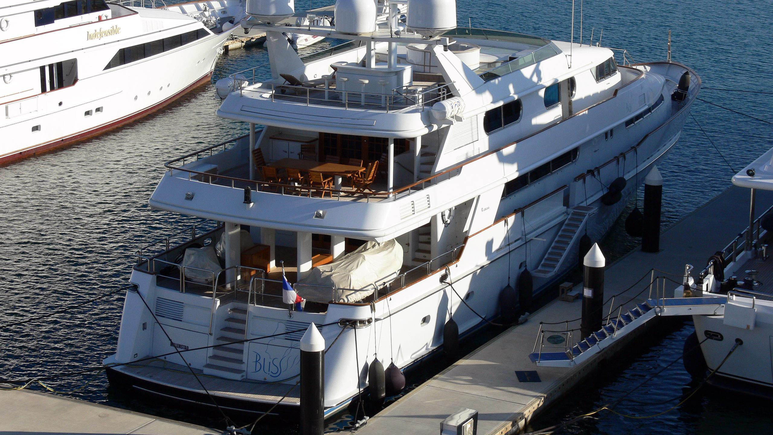 xana-ouranos-too-motor-yacht-codecasa-1994-40m-cruising-aerial-stern