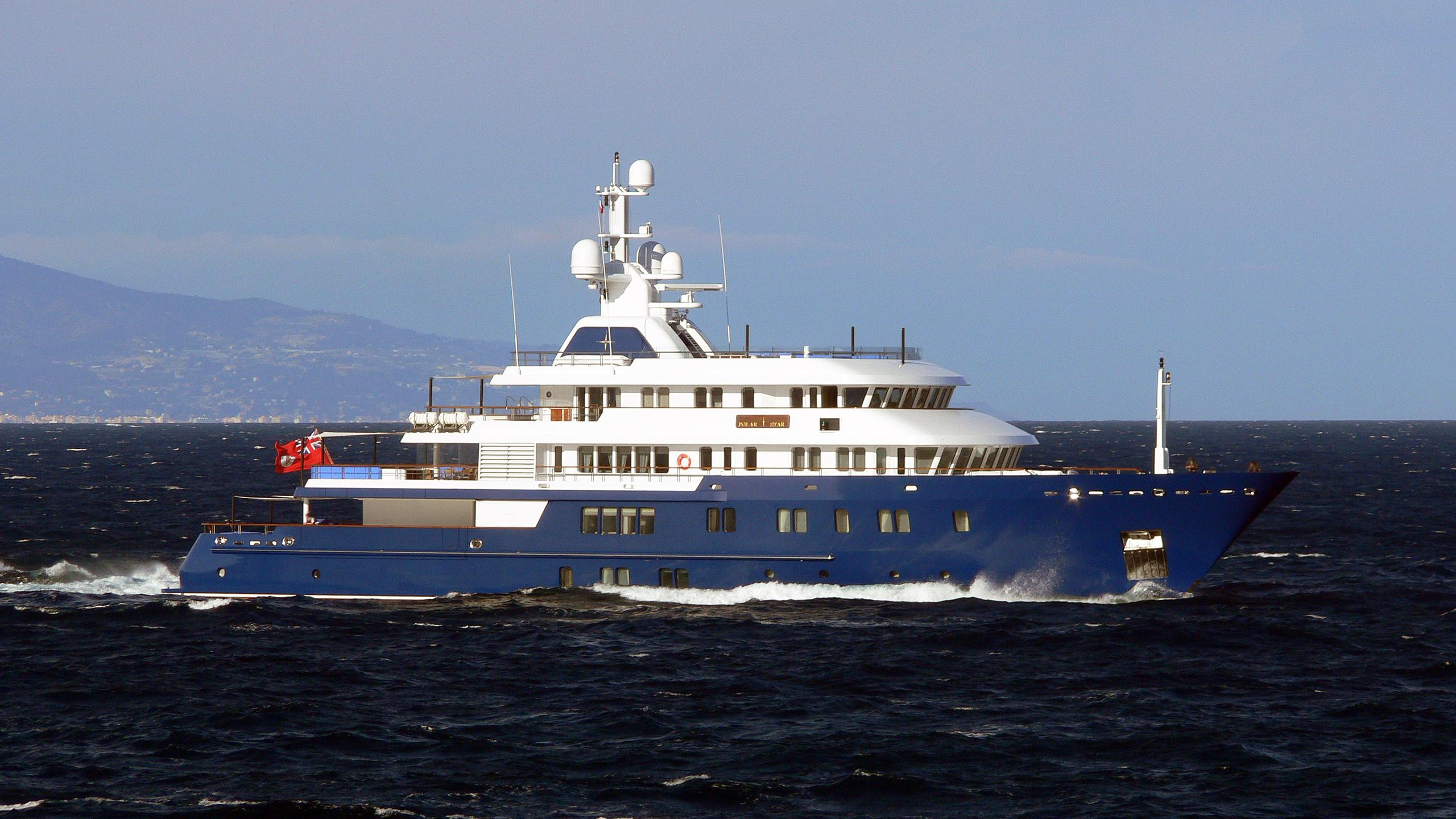 polar star explorer yacht lurssen 2005 63m profile before refit
