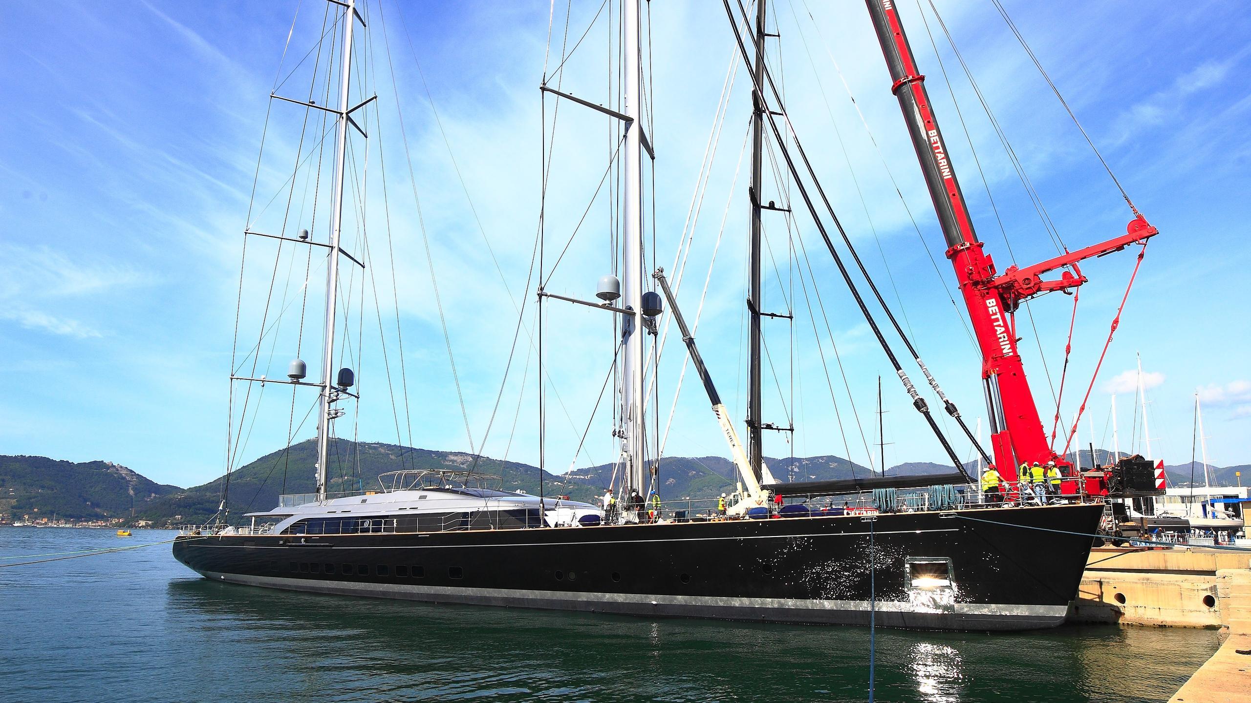 sybaris sailing yacht perini navi 2016 70m launch profile