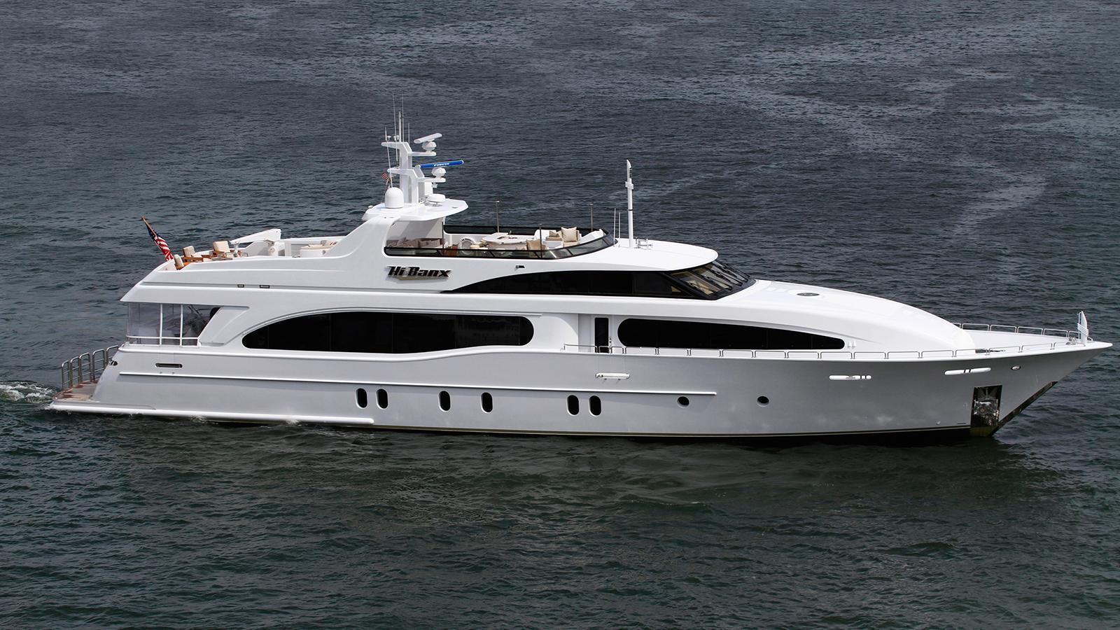 seament aquasition hi-banx motoryacht broward marine 2007 38m profile