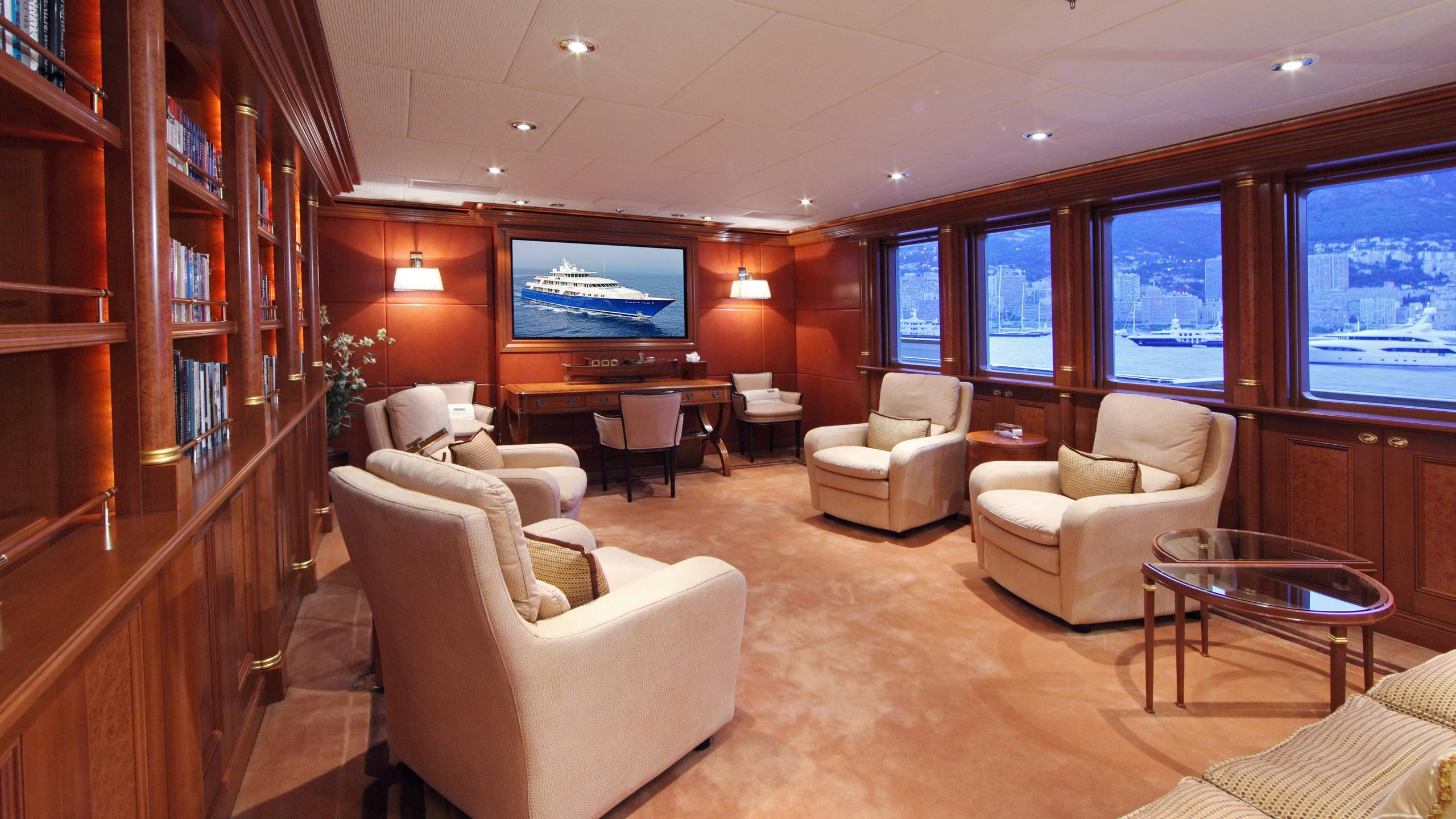 laurel-motor-yacht-delta-marine-2006-73m-library-media-room