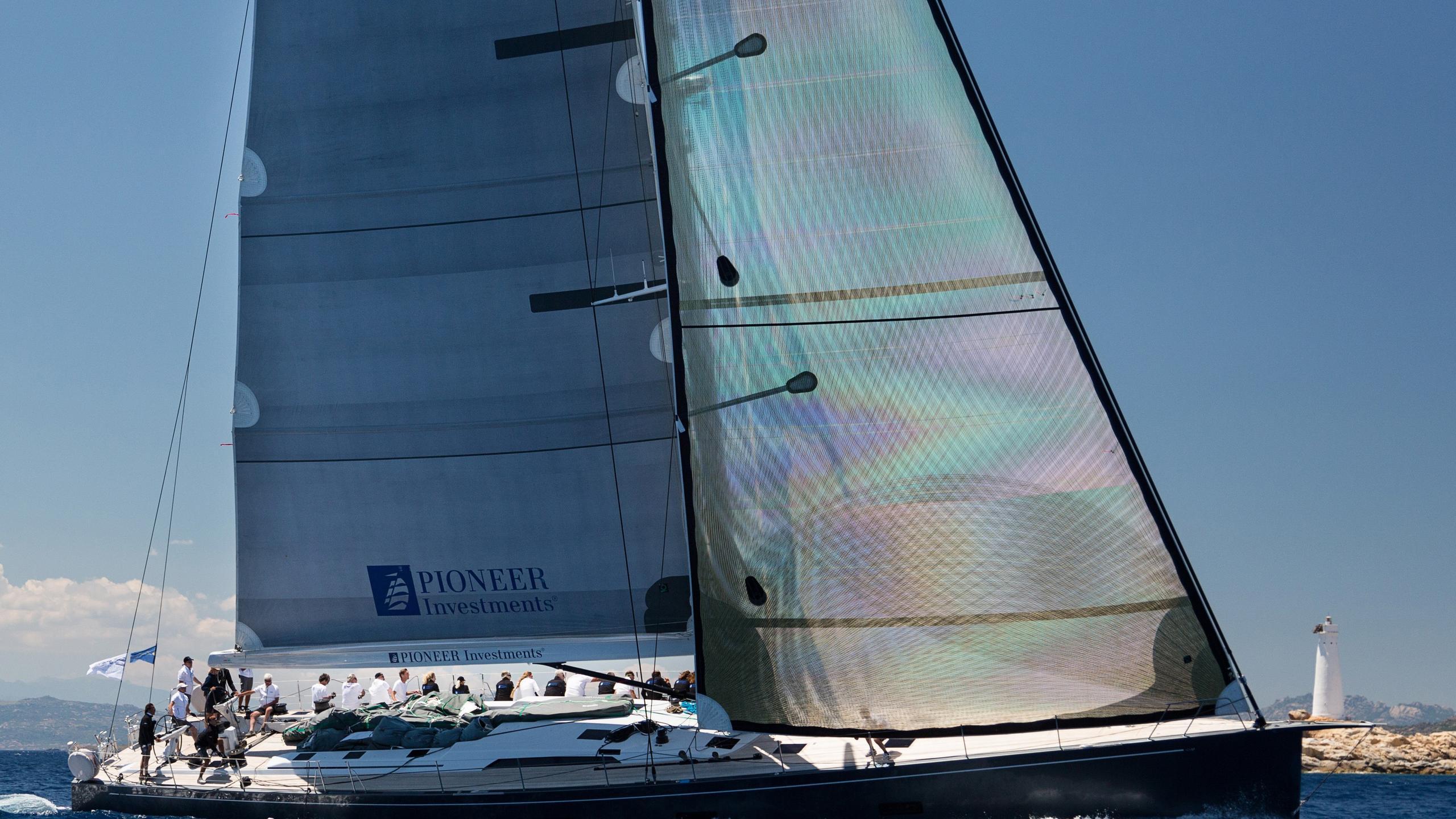 Windfall sailing yacht