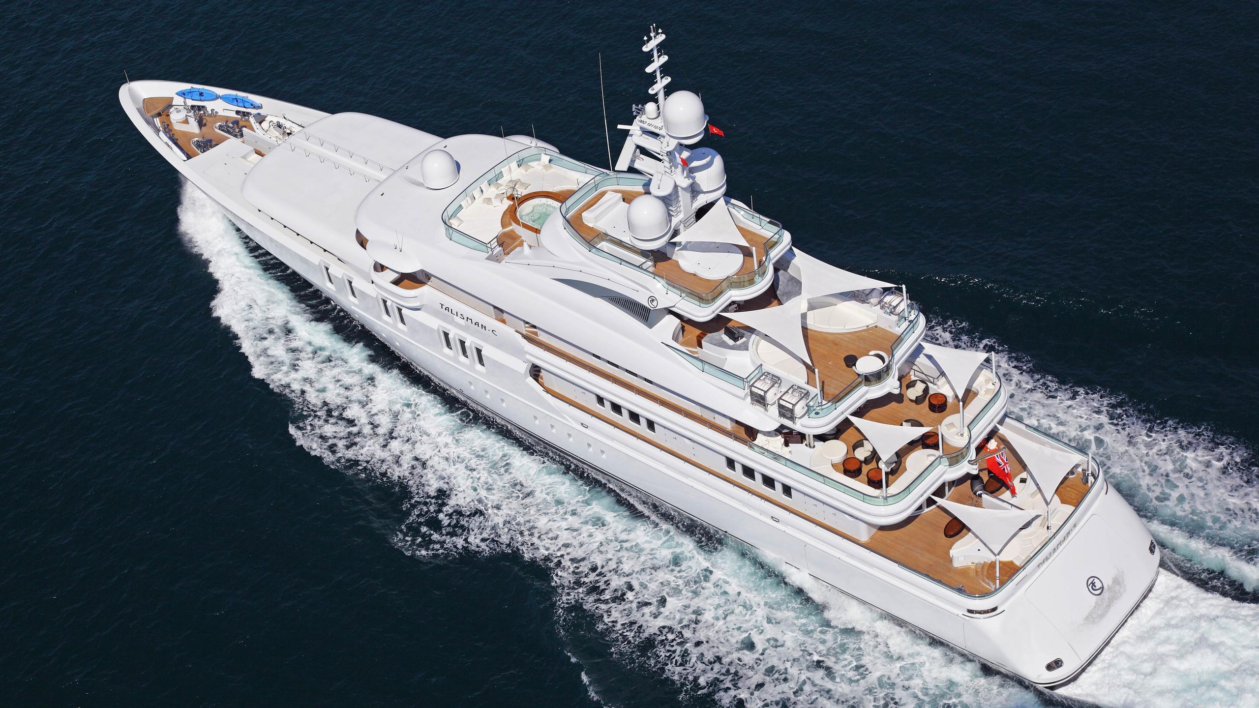 talisman-c-motor-yacht-Turquoise-2011-71m-aerial-cruising