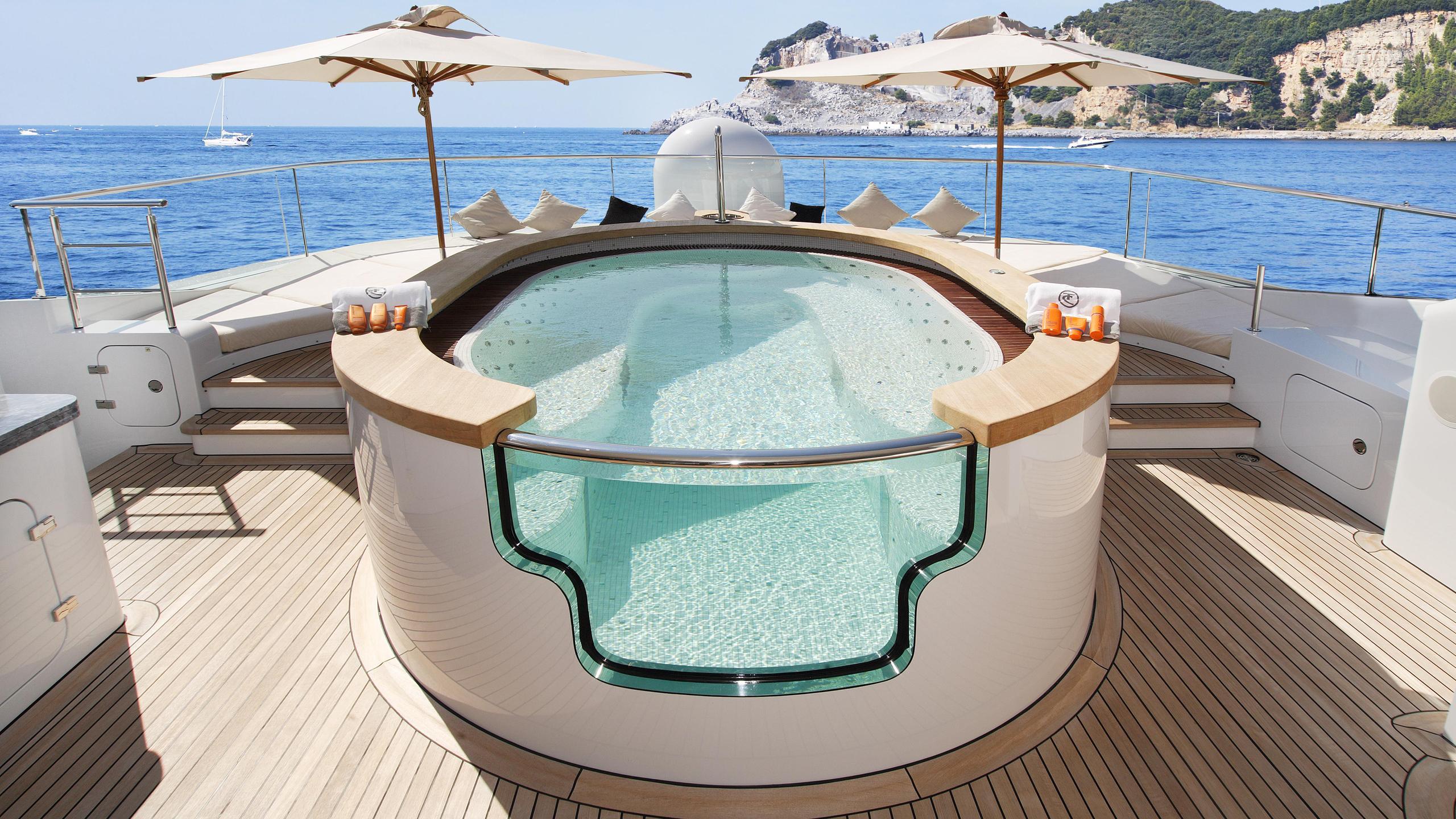 talisman-c-motor-yacht-Turquoise-2011-71m-profile-sundeck-jacuzzi