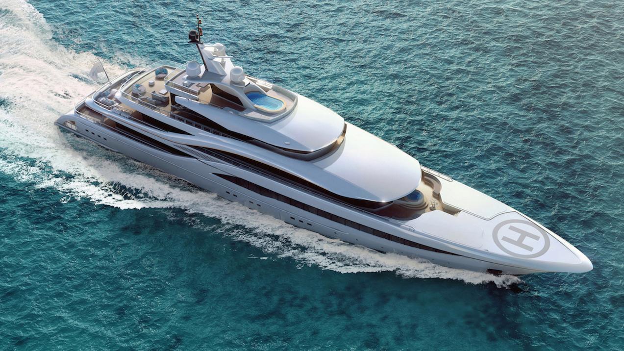 go motoryacht turquoise yachts nb63 77m 2018 rendering aerial