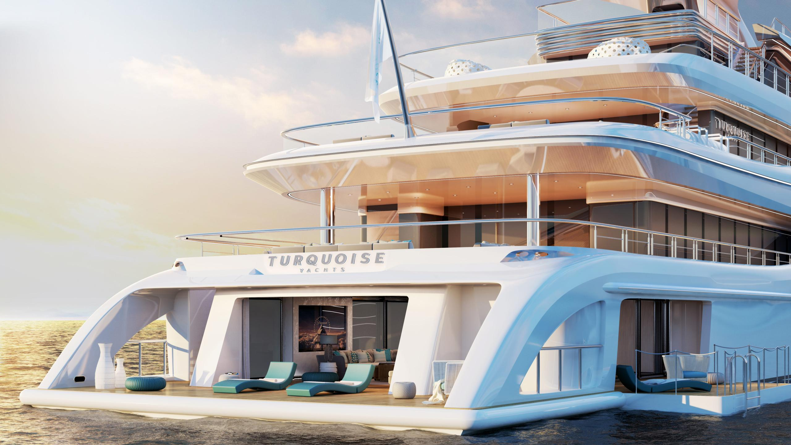 go motoryacht turquoise yachts nb63 77m 2018 rendering aft decks