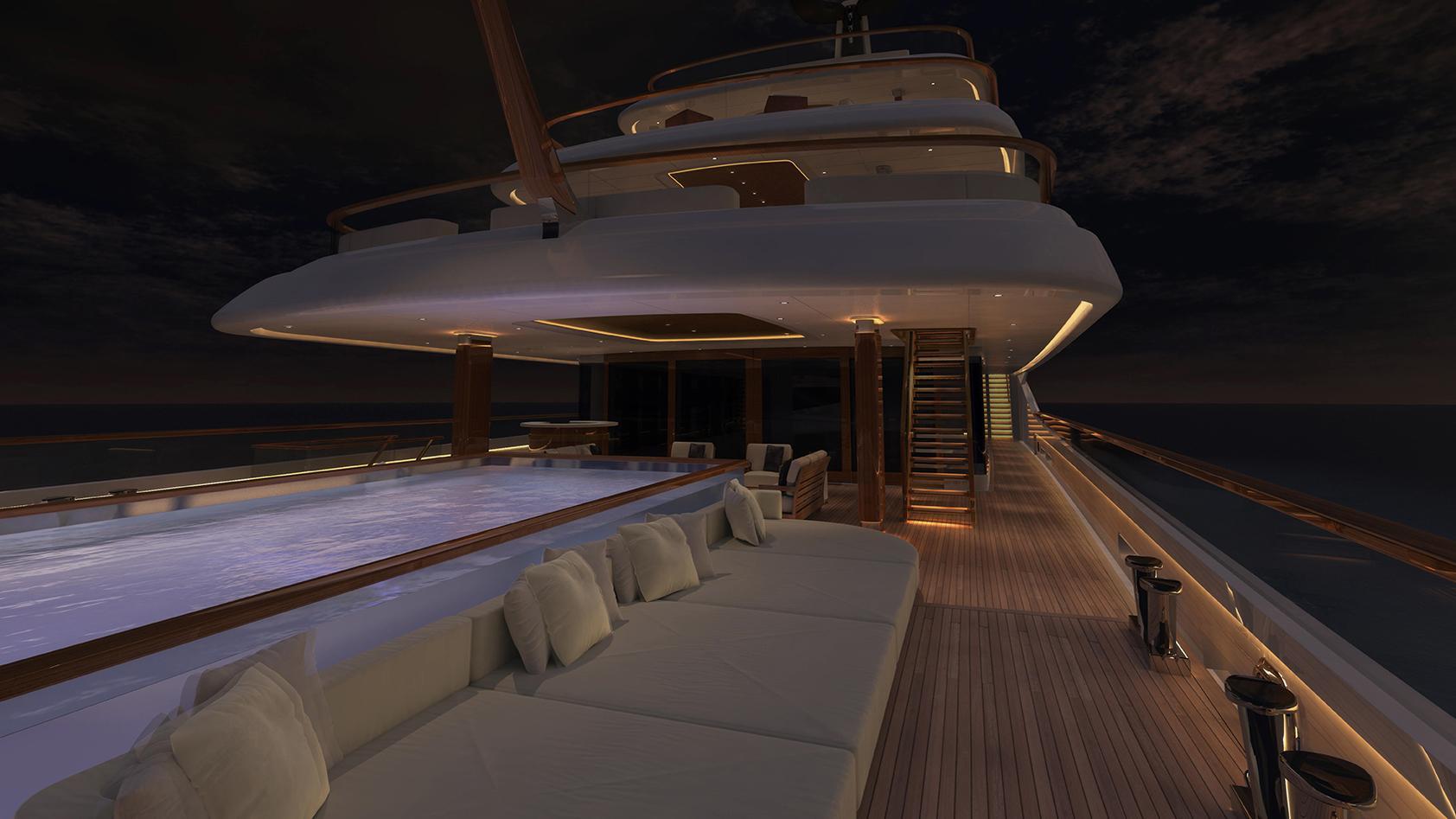 vertigo motoryacht feadship 2017 97m rendering aft deck