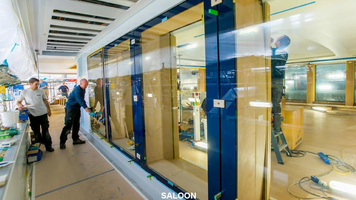 vertigo motoryacht feadship 2017 97m construction windows