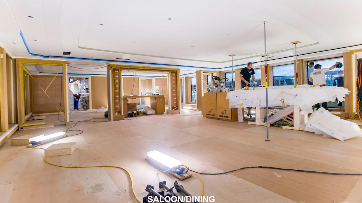 vertigo motoryacht feadship 2017 97m construction saloon