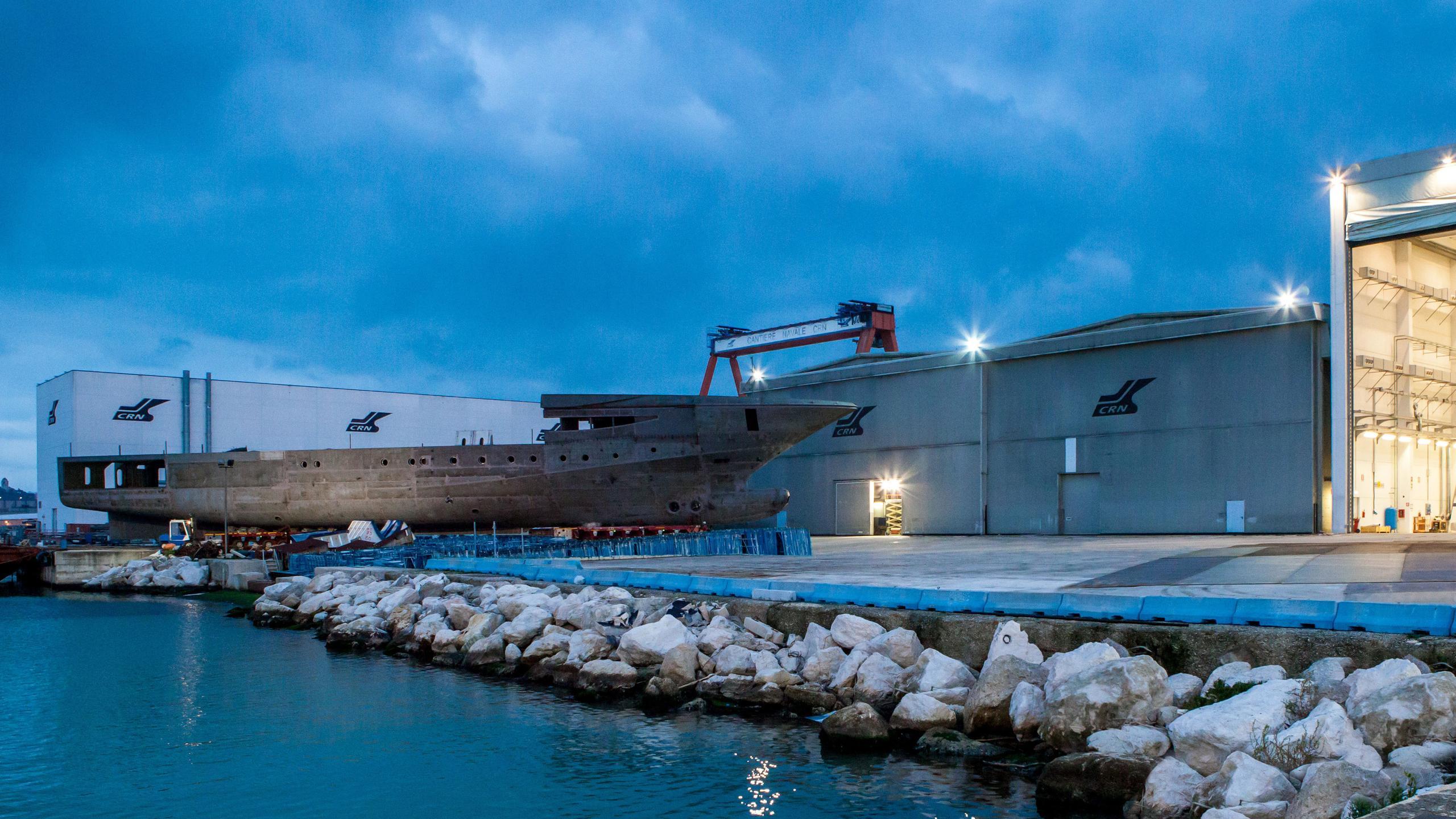 mimtee motoryacht crn yachts 135 80m 2019 hull
