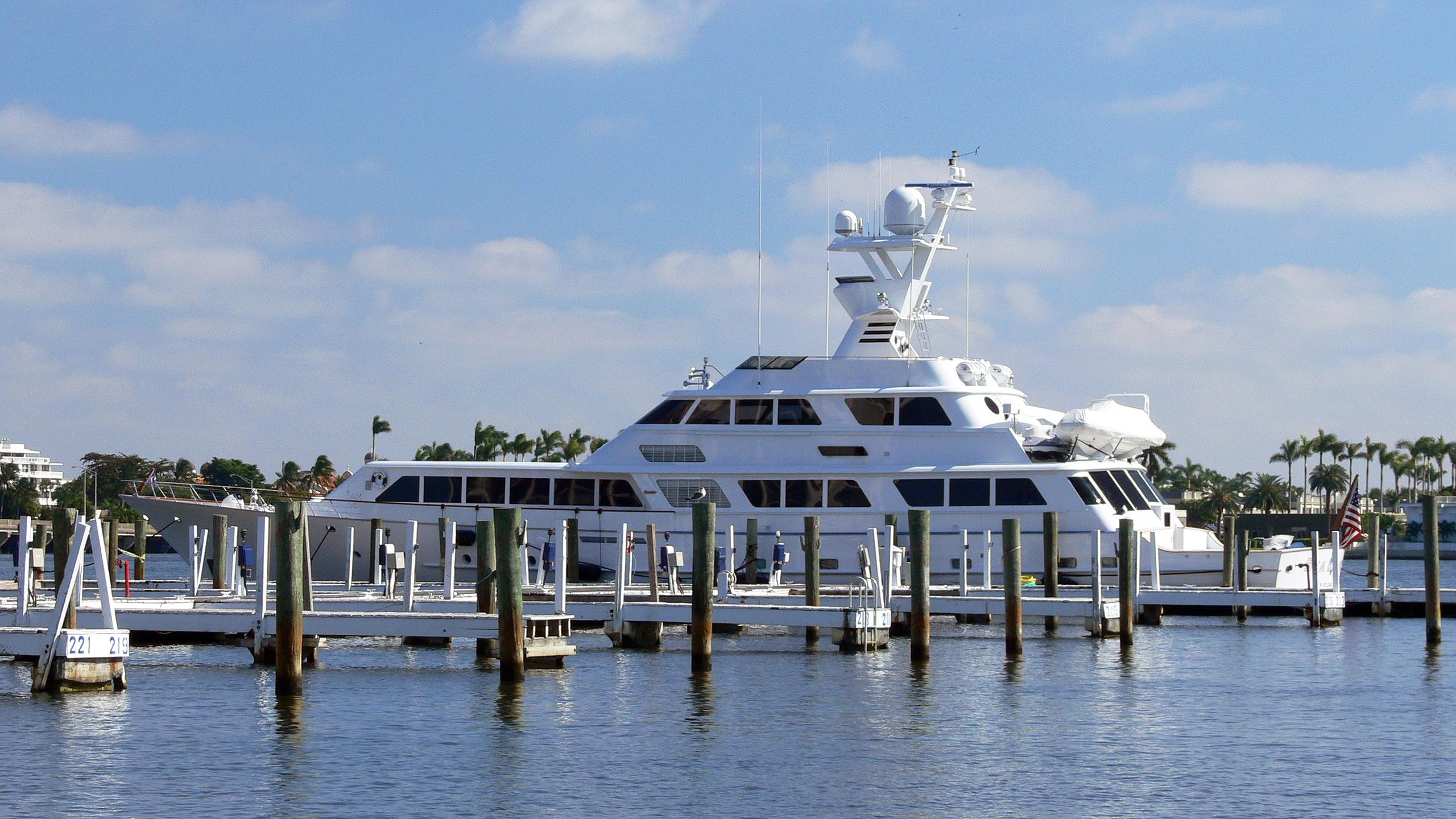 lady-sandals-motor-yacht-feadship-1985-40m-moored-half-profile