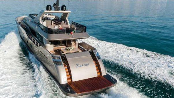 shadow zahraa tecnomar italian sea group 2013 30m stern