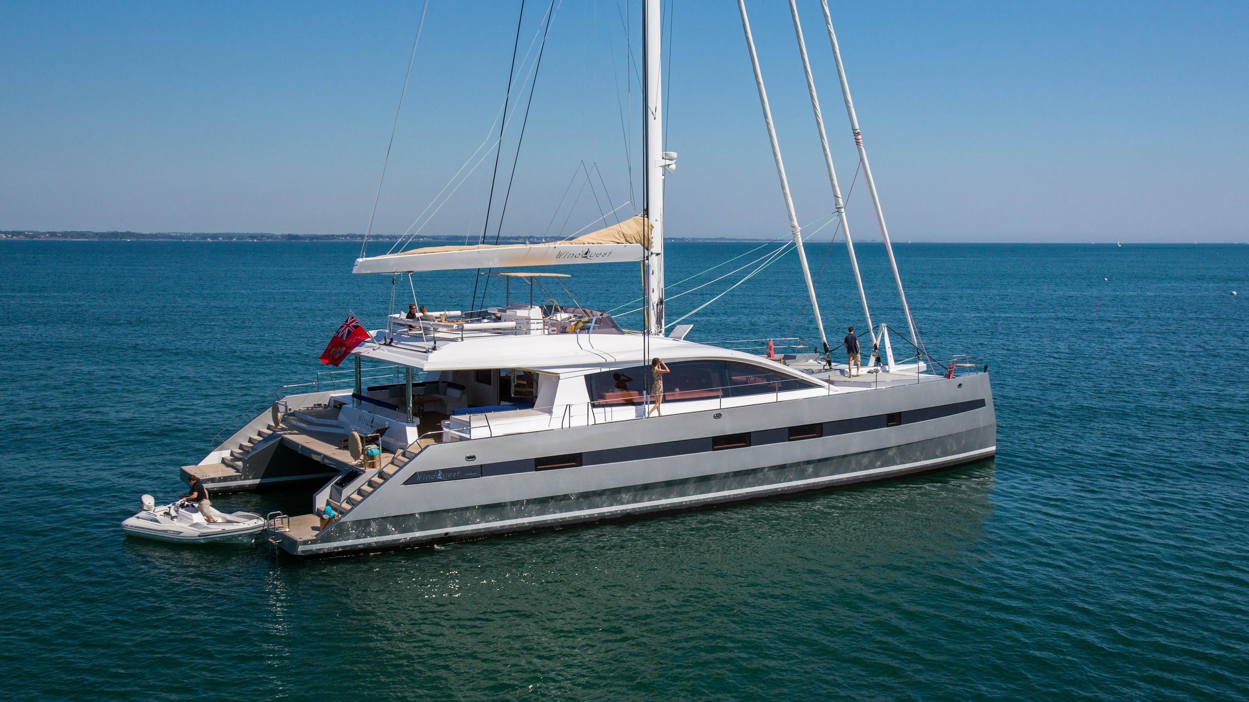 Windquest-catamaran-yacht-jfa-2014-26m-moored-half-profile