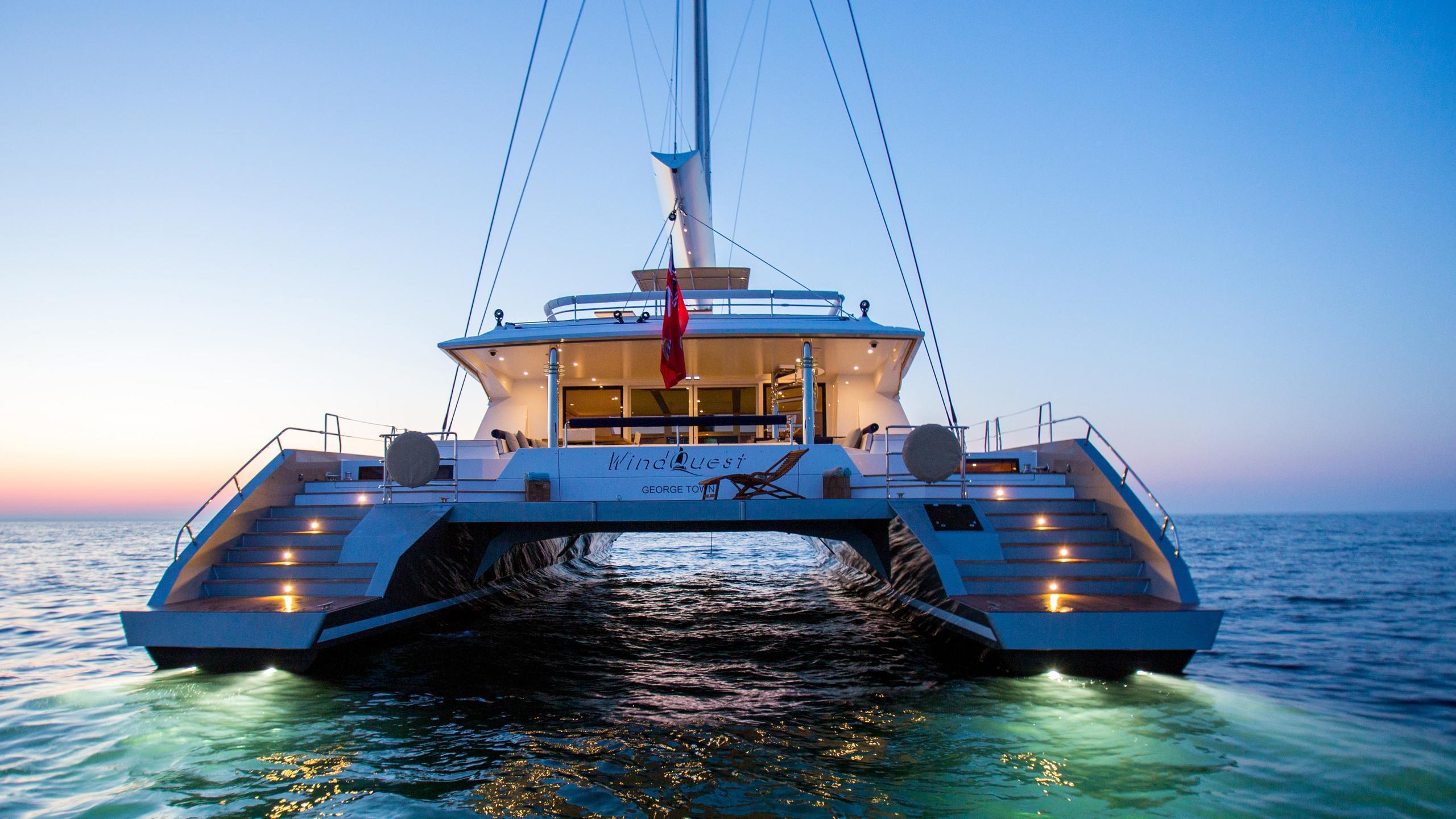 Windquest-catamaran-yacht-jfa-2014-26m-stern