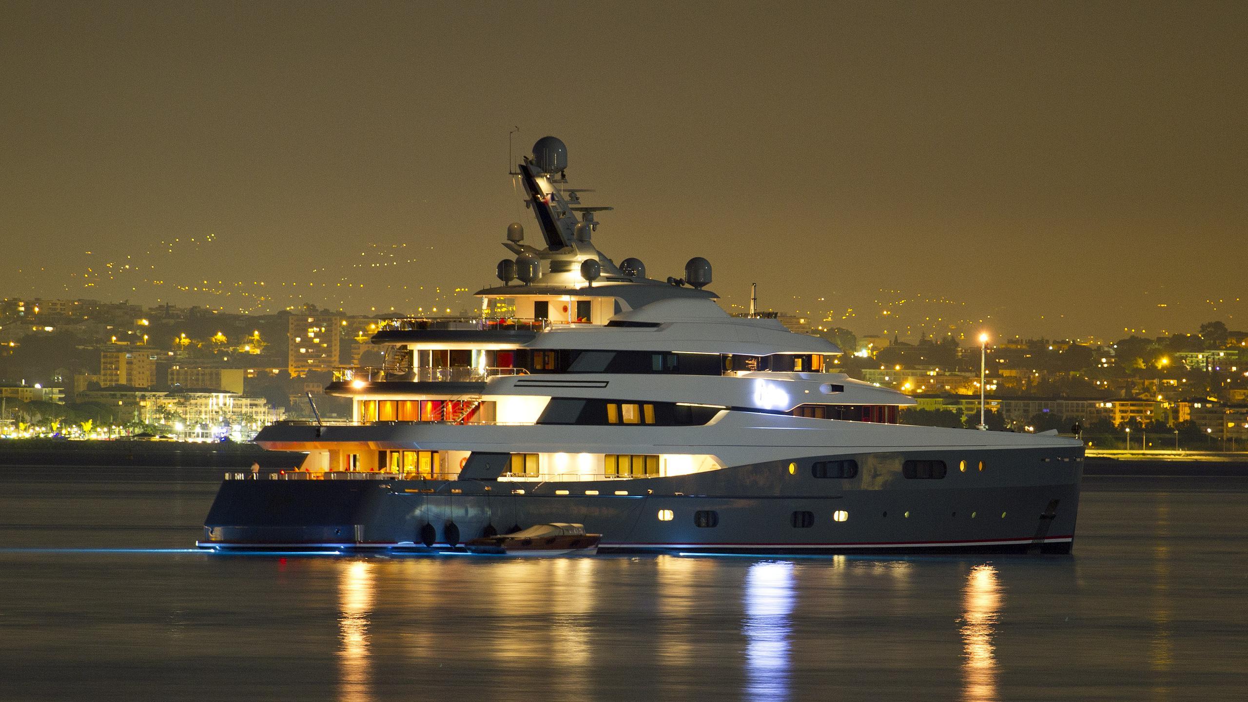 aviva-motor-yacht-abeking-rasmussen-2007-68m-half-profile-by-night