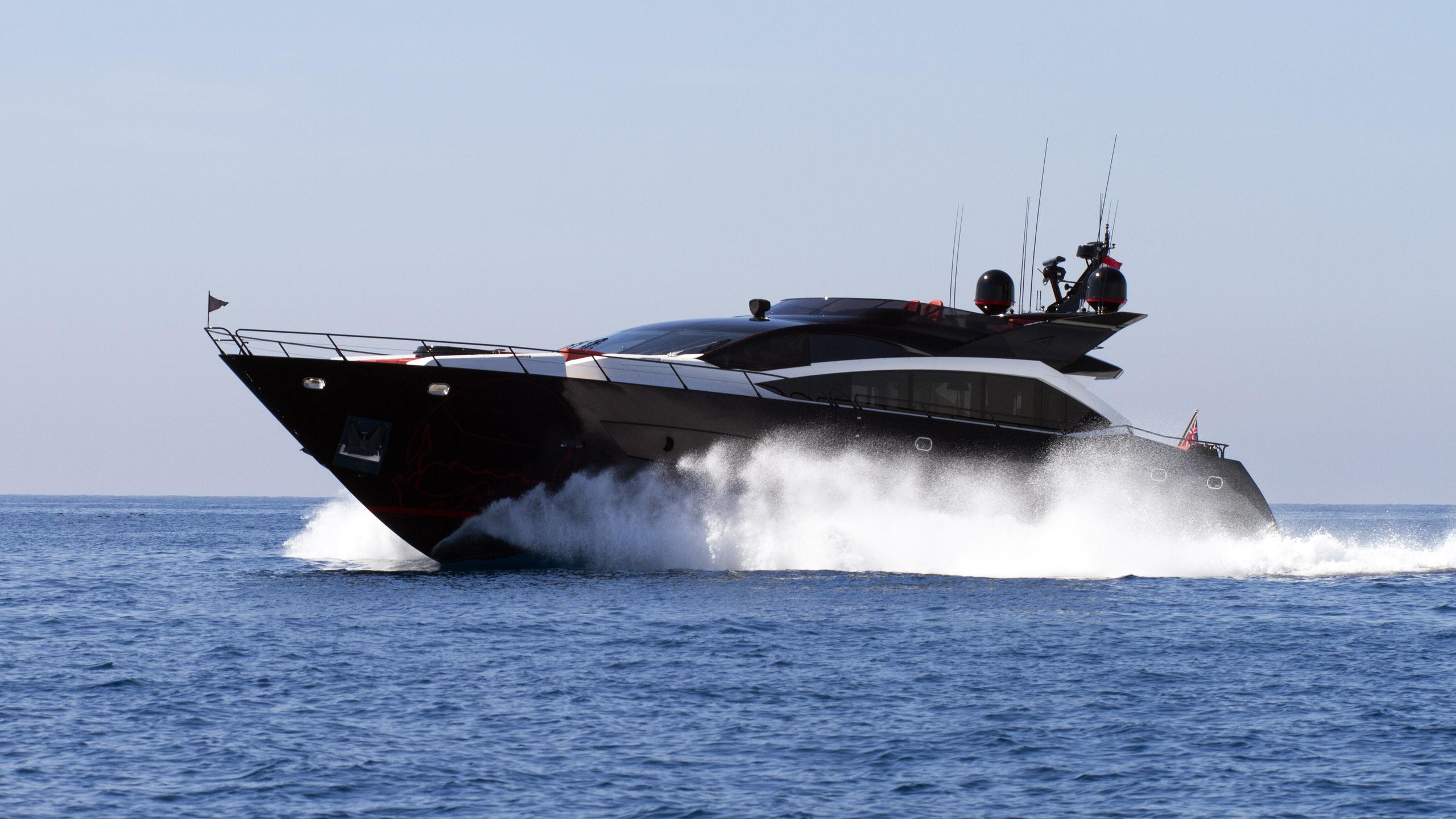 black-legend-motor-yacht-sunseeker-101-sy-2013-30m-running-half-profile